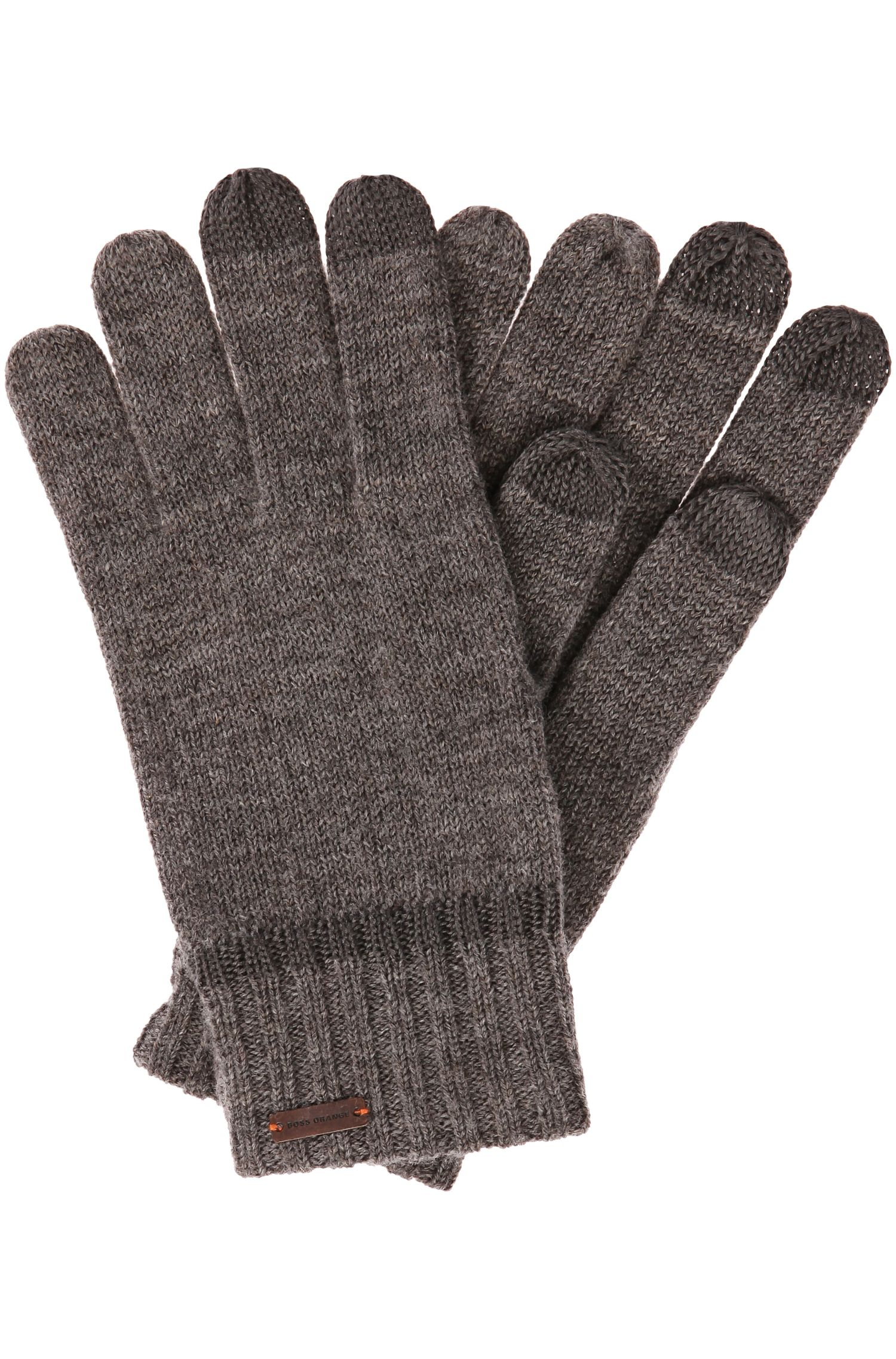 Handschuhe aus Woll-Mix mit Tech-Funktion: ´Graas-2`
