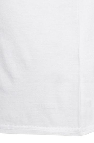 Loose-Fit Longsleeve aus Baumwolle: 'Doops', Weiß