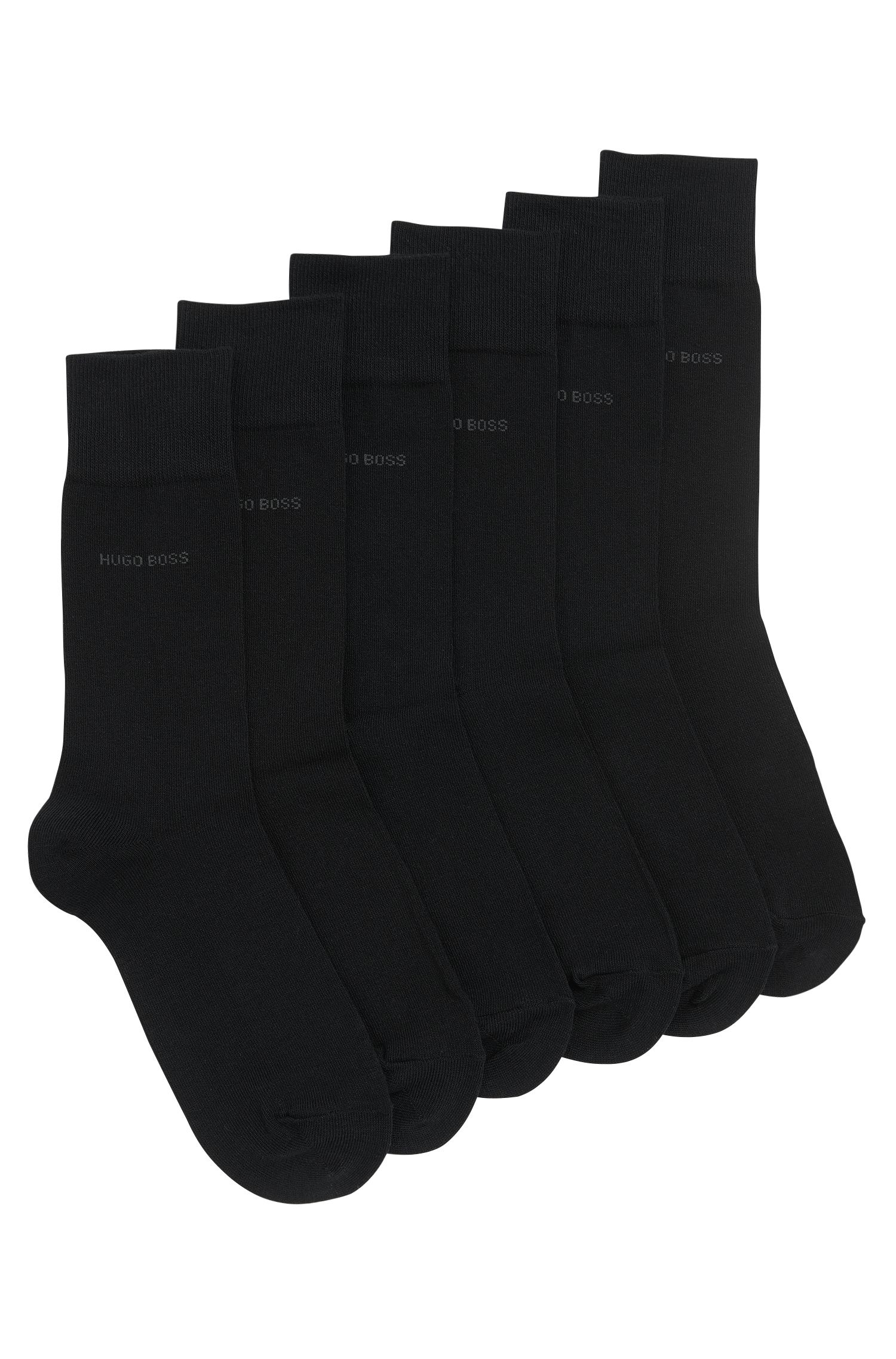 Cotton blend socks in a triple pack: 'Threepack RS SP'