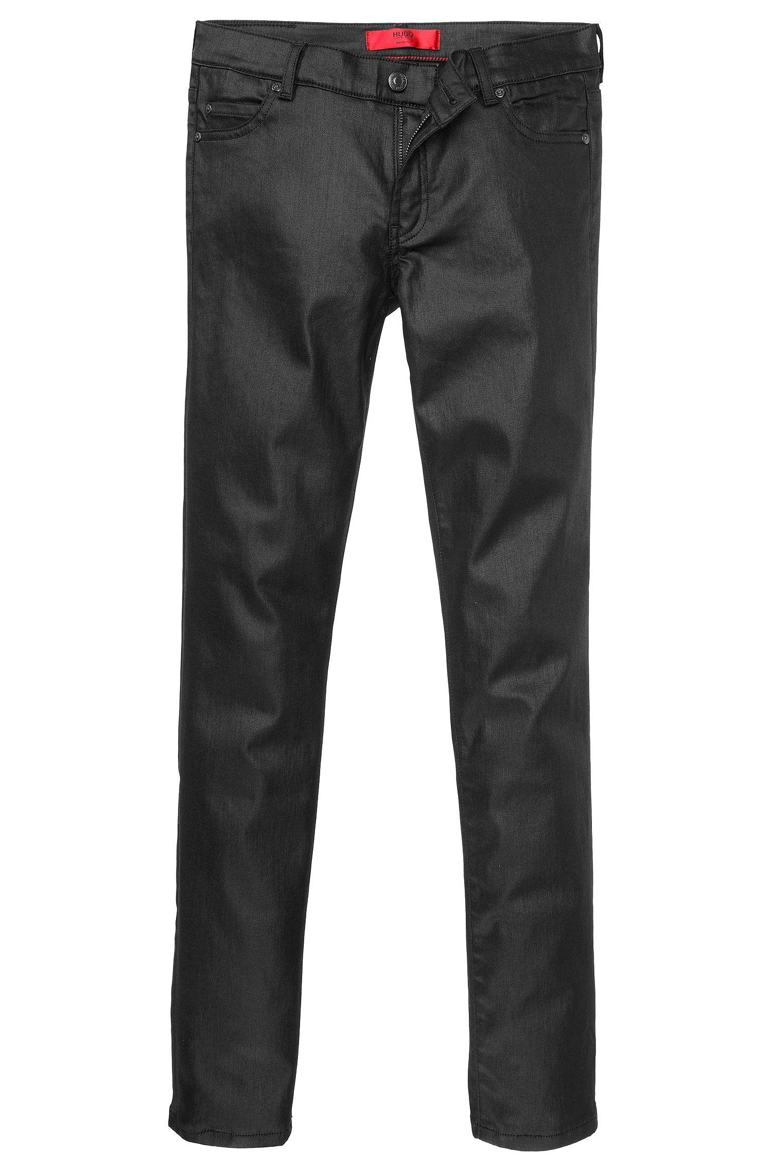 Jeans Extra Slim Fit en coton mélangé extensible: «Georgina»