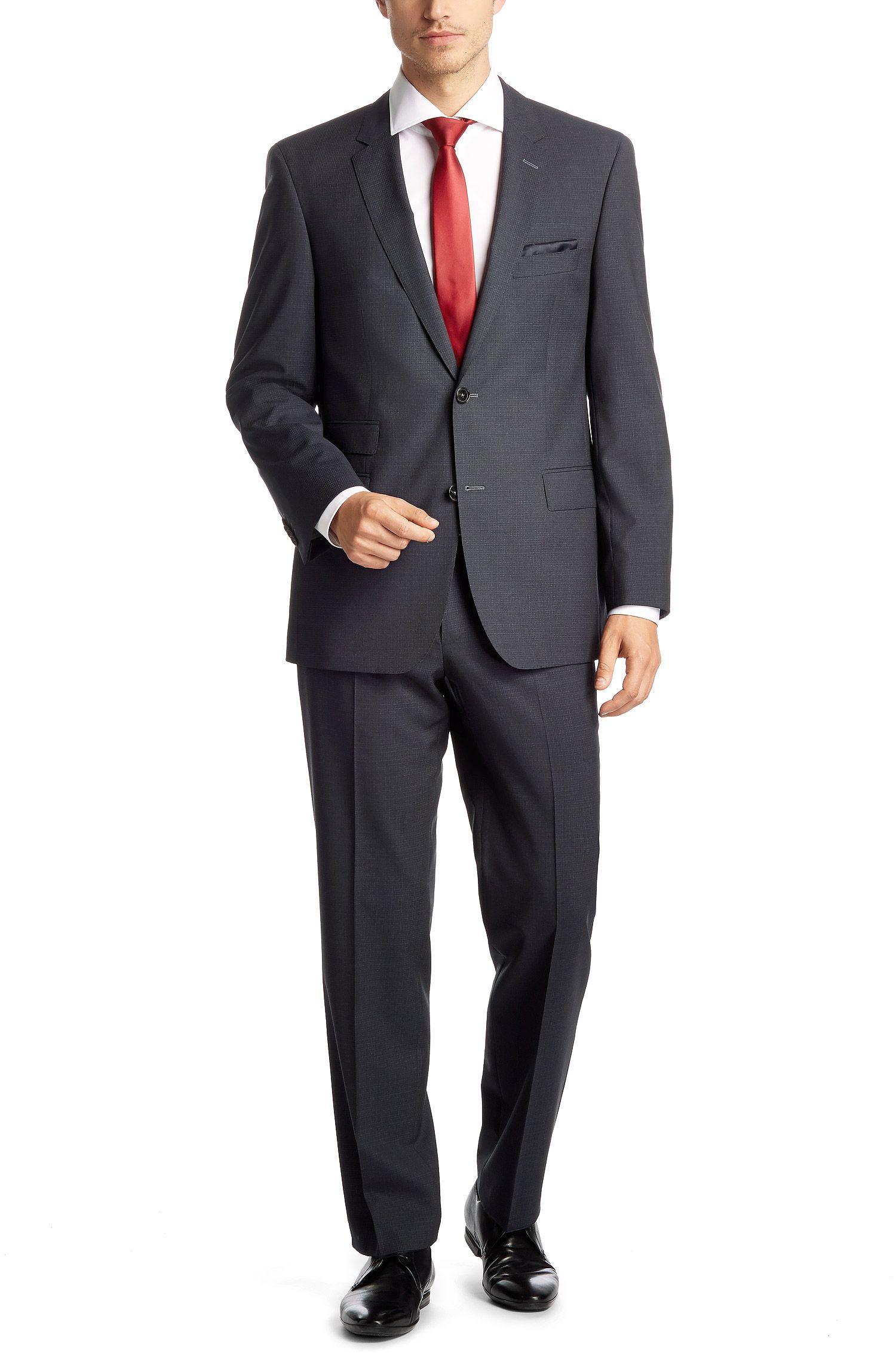 Comfort-Fit Anzug ´Edison2/Power` aus Schurwolle