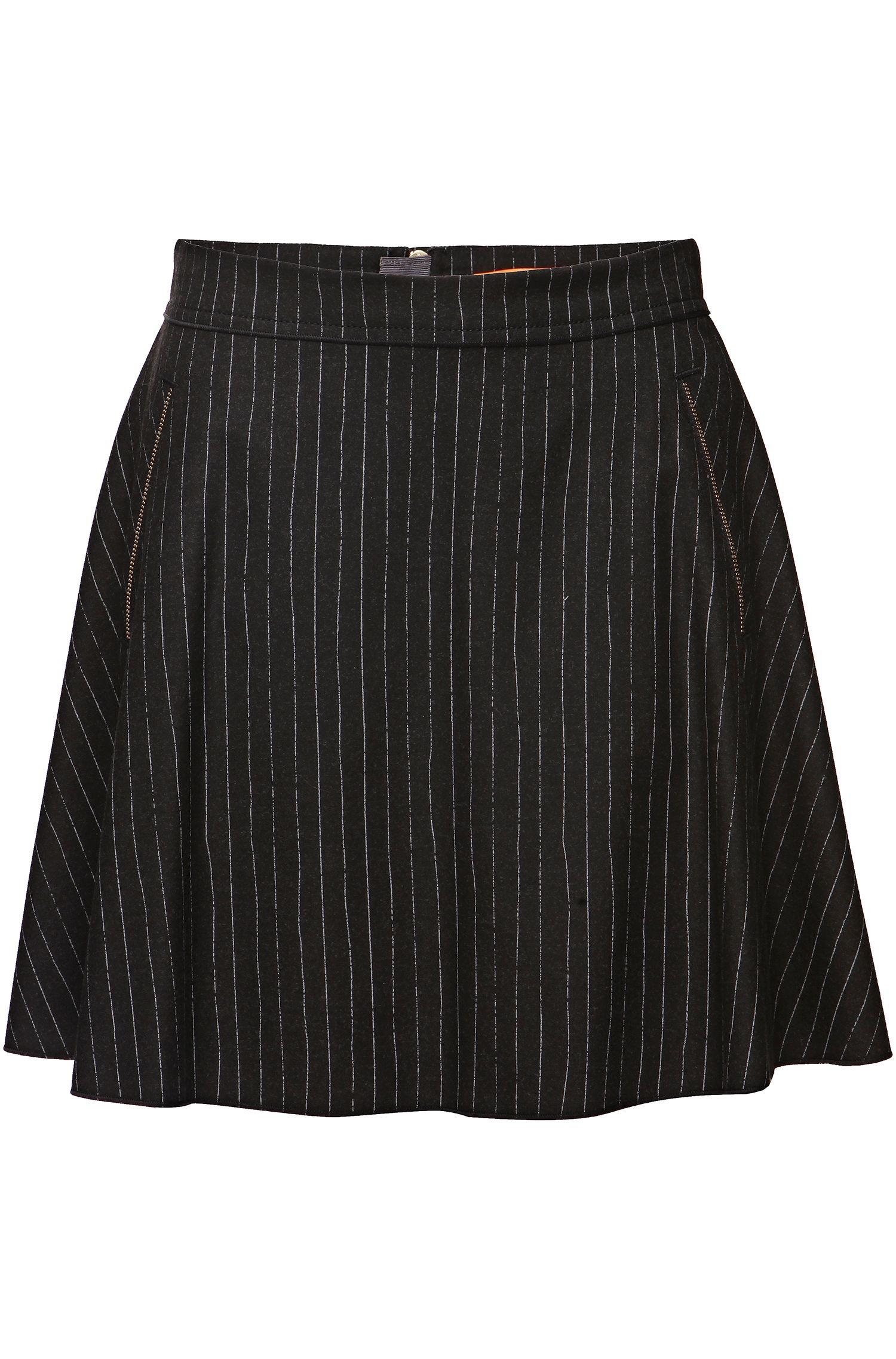 Mini-jupe «XXX»en viscose mélangée