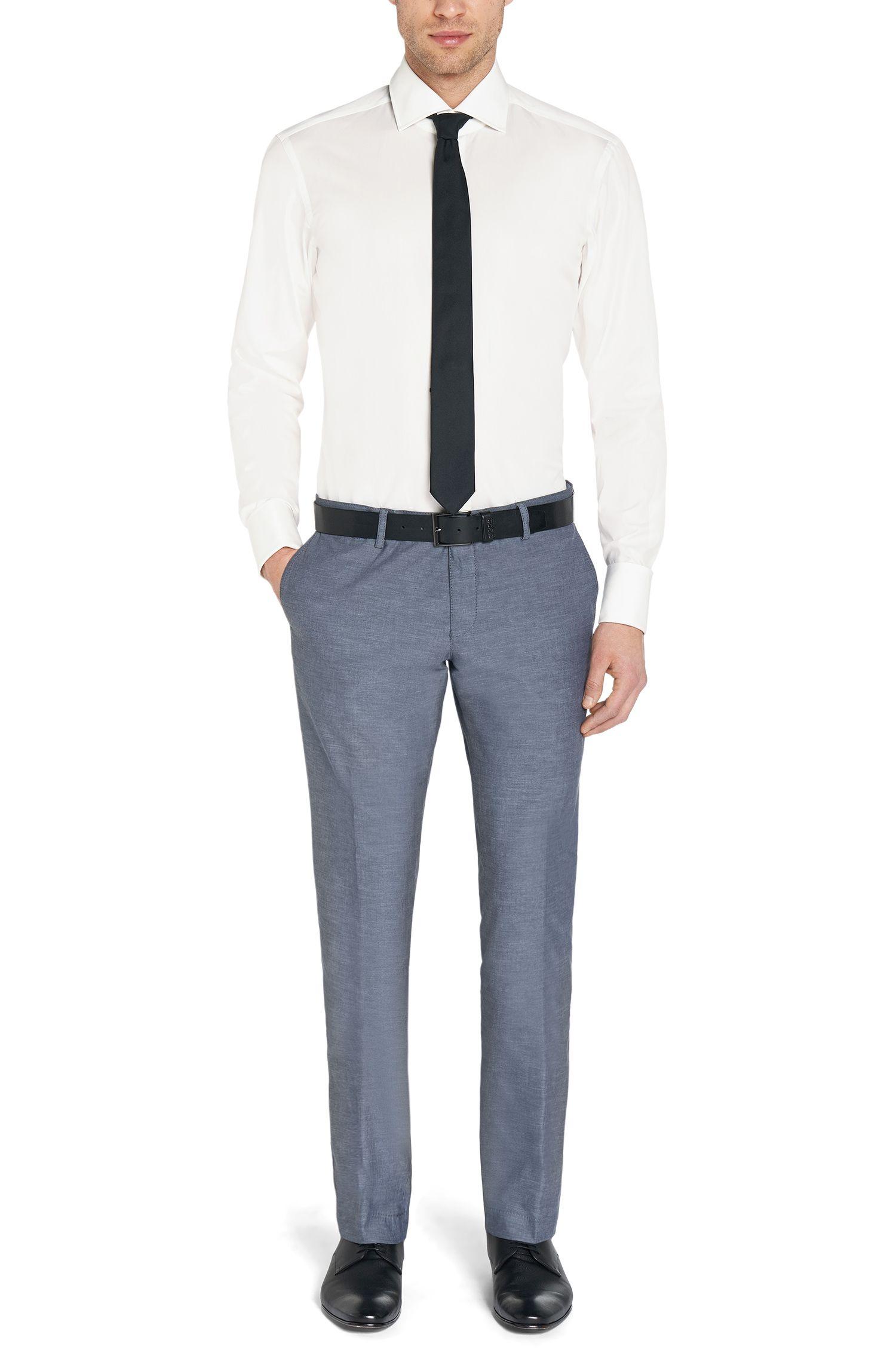 Regular-Fit Hemd aus Baumwolle mit Umschlagmanschetten: 'Gale'