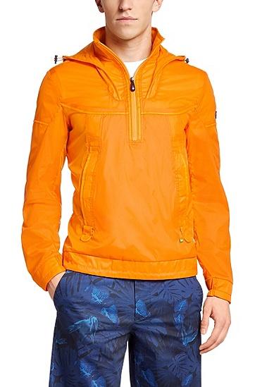 防水面料风雨衣'Jaburo',  825_亮橙色