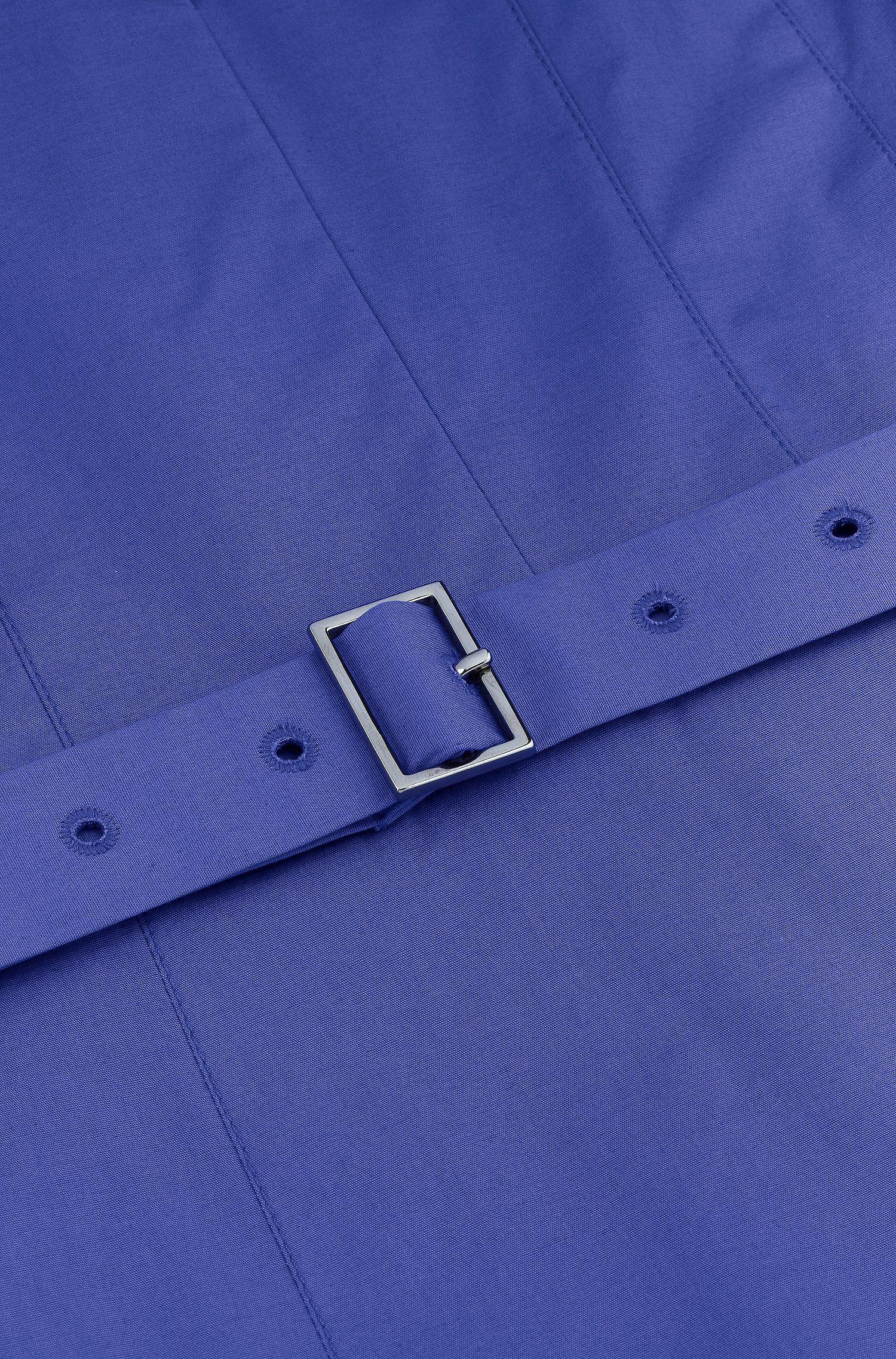 Robe-chemise «Dunila» en coton mélangé
