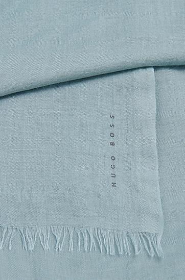 Unifarbenes Tuch aus Modal: 'Louna', Türkis