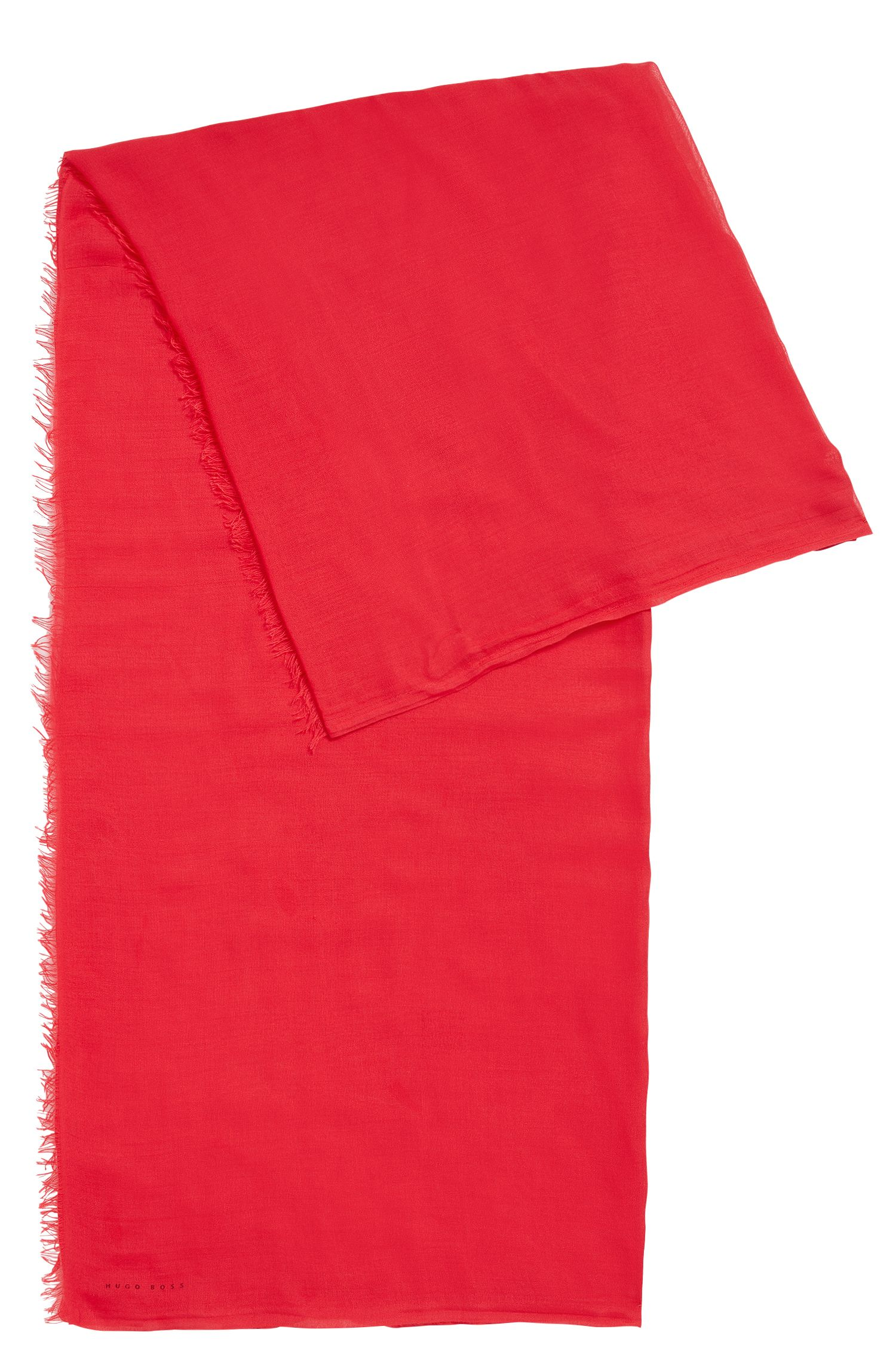 Unifarbenes Tuch aus Modal: 'Louna'