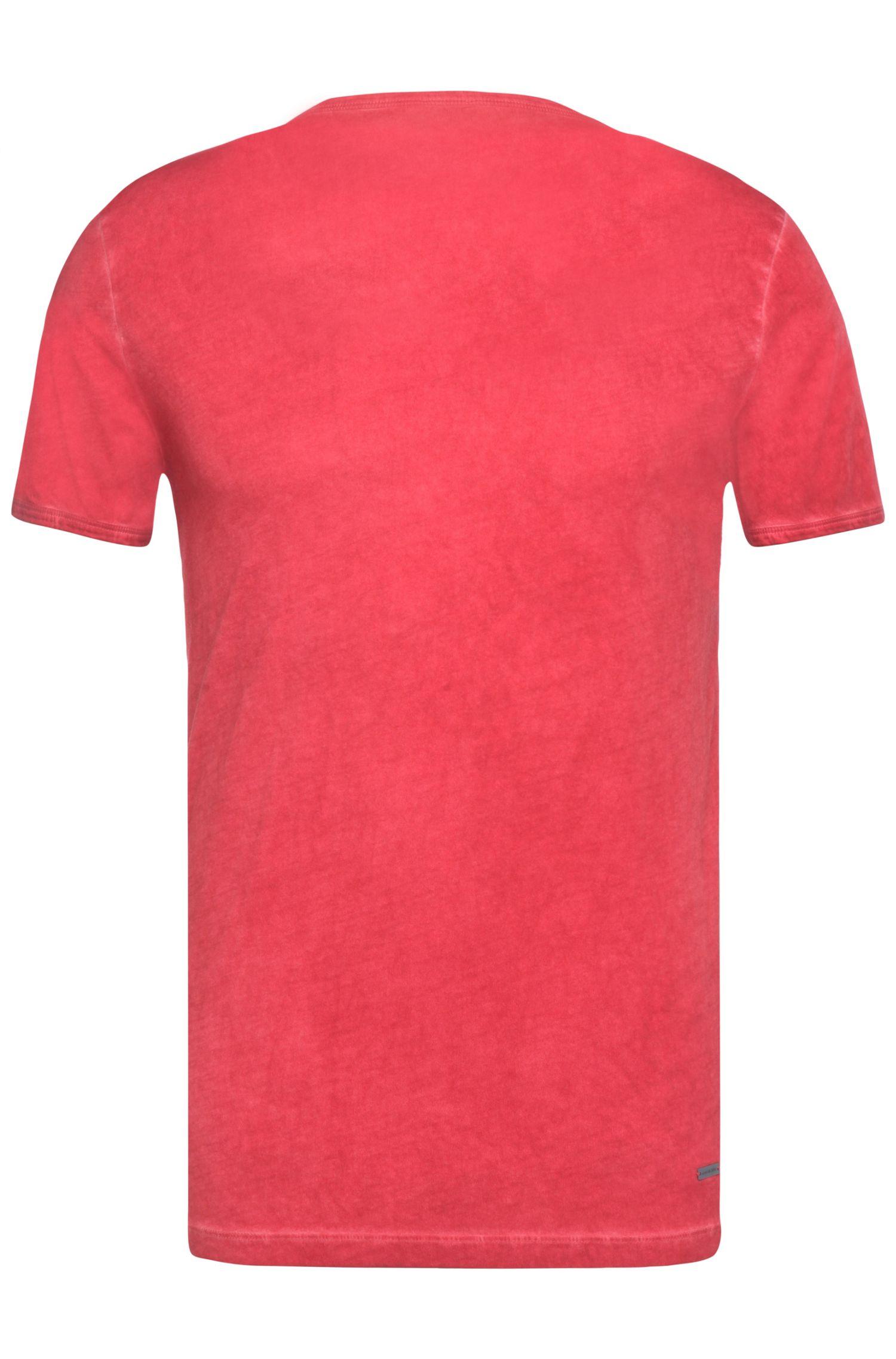 Slim-Fit T-Shirt mit Rundhalsausschnitt: ´Tour`
