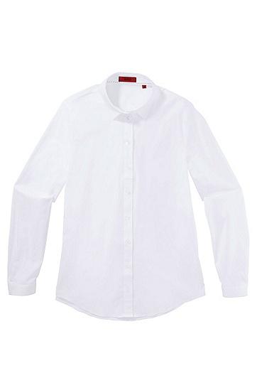 Bluse ´Eselia` aus Baumwoll-Mix, Weiß