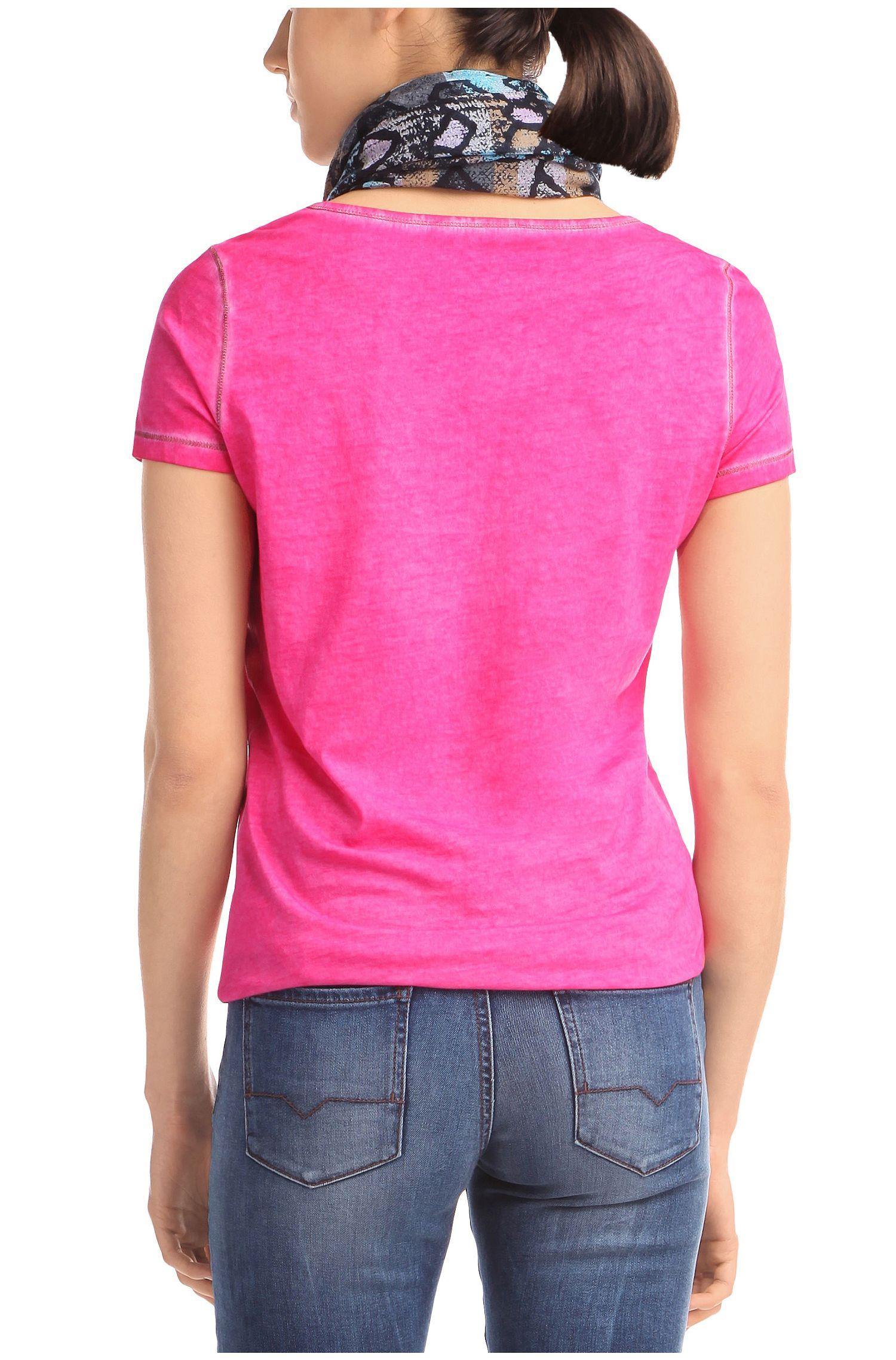 T-shirt 'Tahiras' van katoen