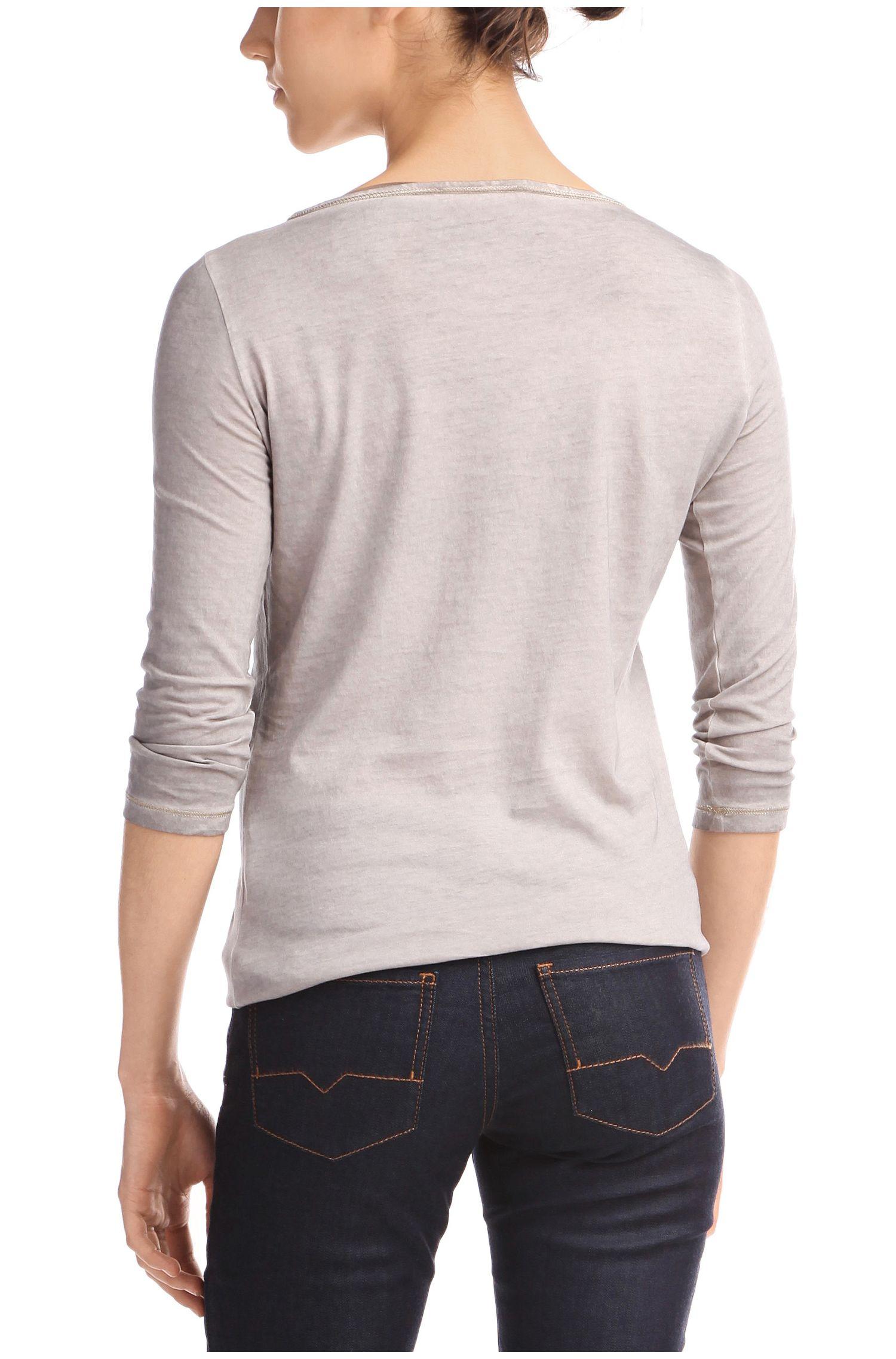 T-Shirt ´Tasfias` aus Baumwolle
