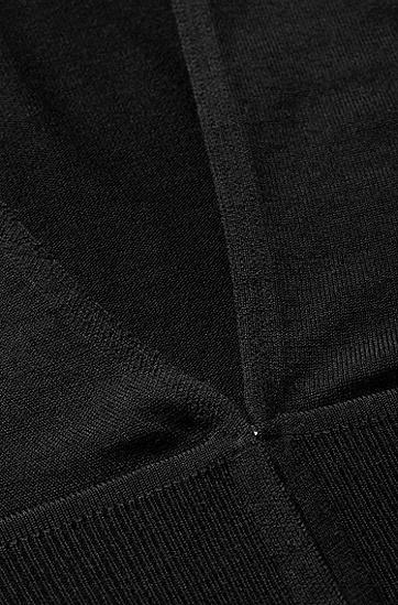 Cardigan ´Feisa` aus Schurwolle, Schwarz