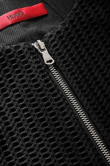 Kurzblazer ´Arondi` aus strapazierfähigem Material, Schwarz