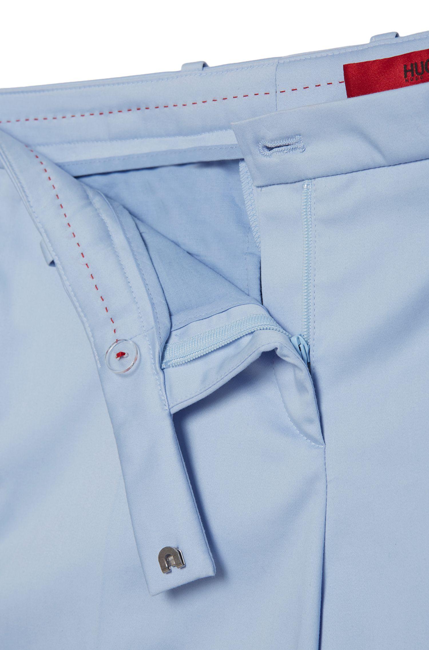 Pantalon Slim Fit en coton stretch: «Harile-3»