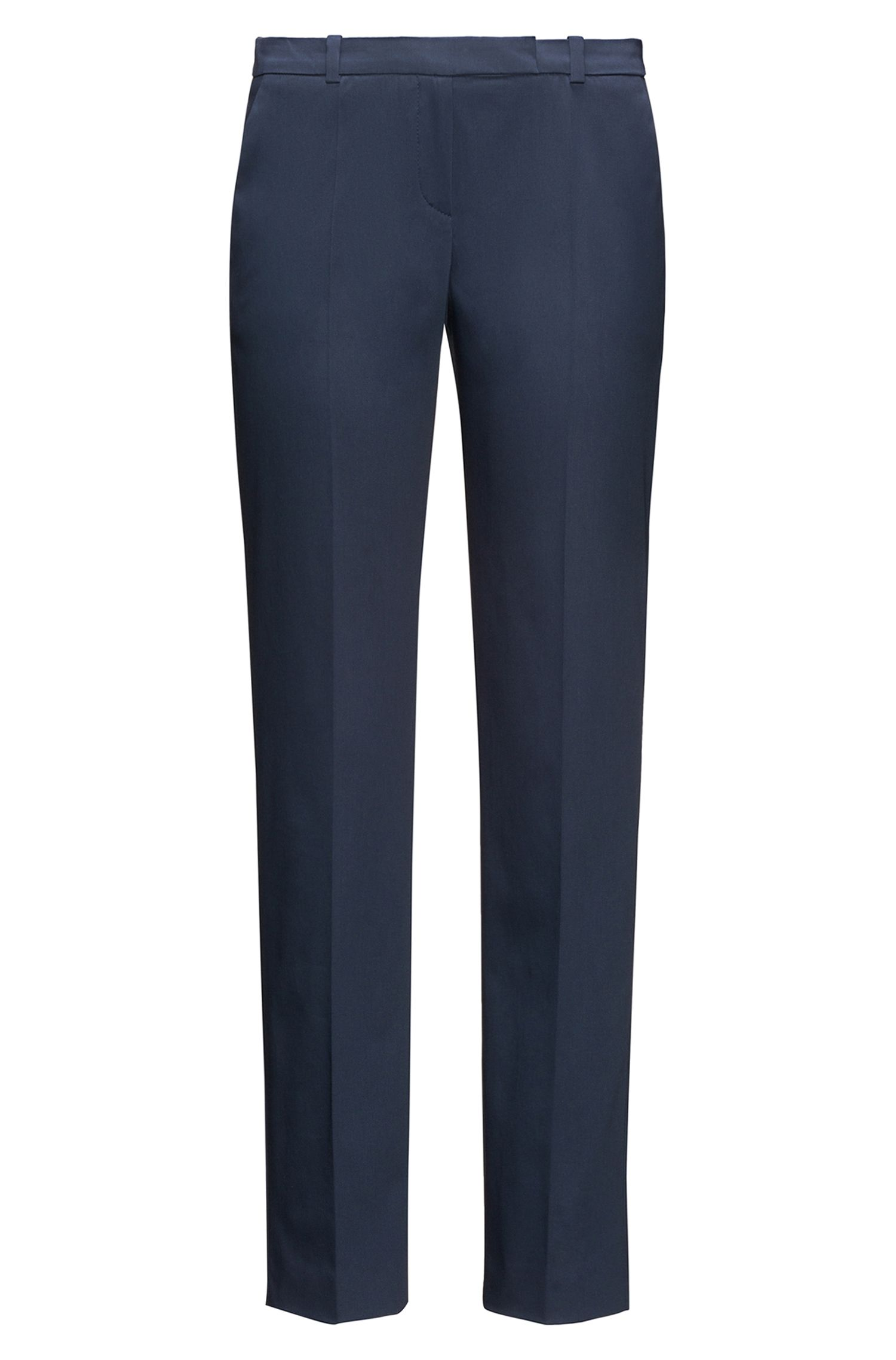 Pantalon Slim Fit en coton stretch : « Harile-3 »