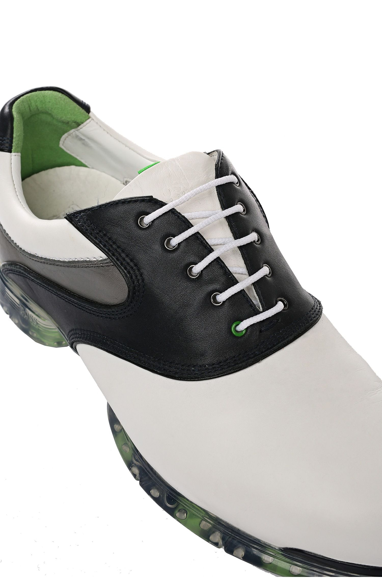 Baskets en cuir de veau: «Golf Pro»