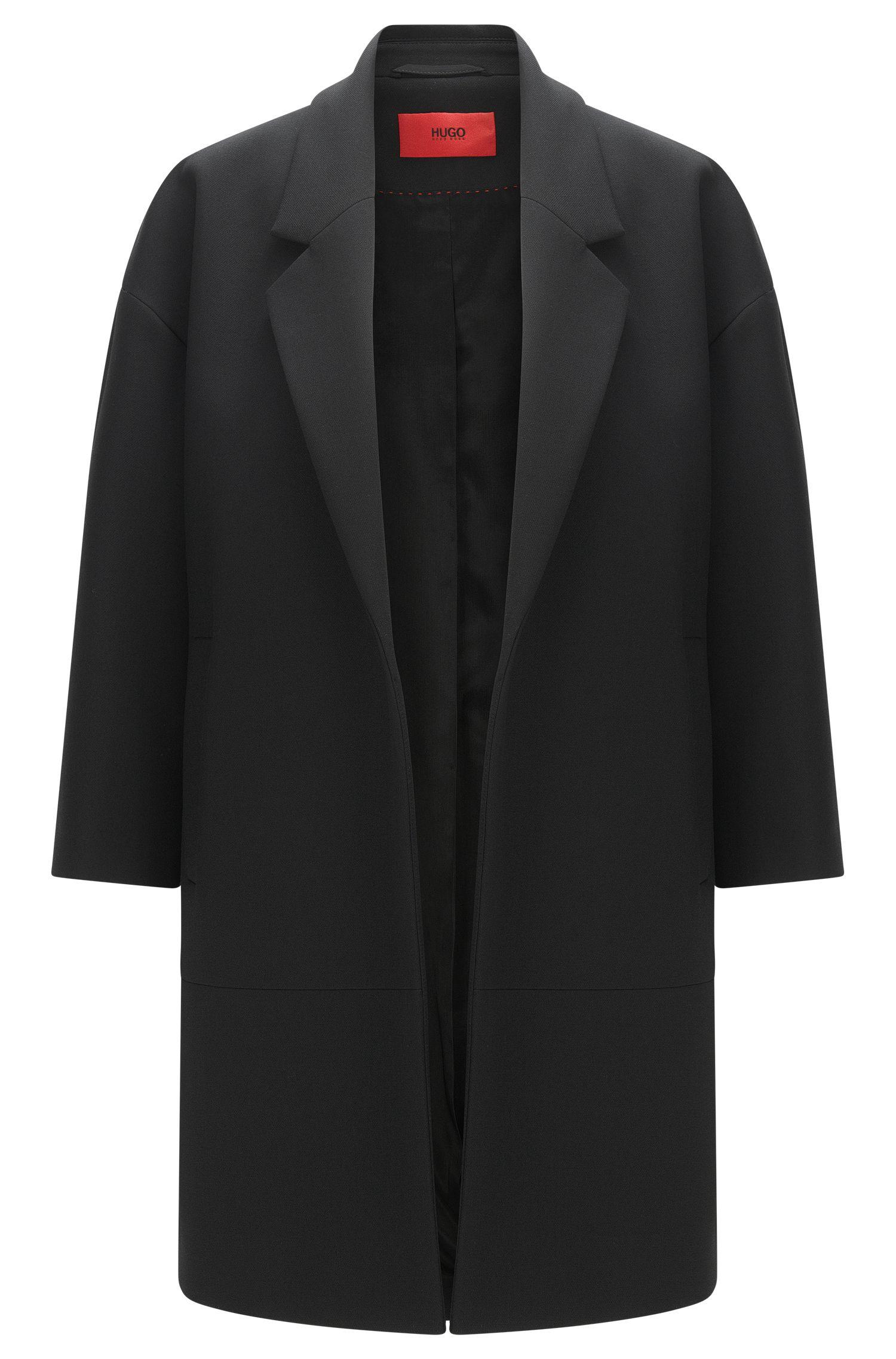 Manteau «Melami» en matières mélangées