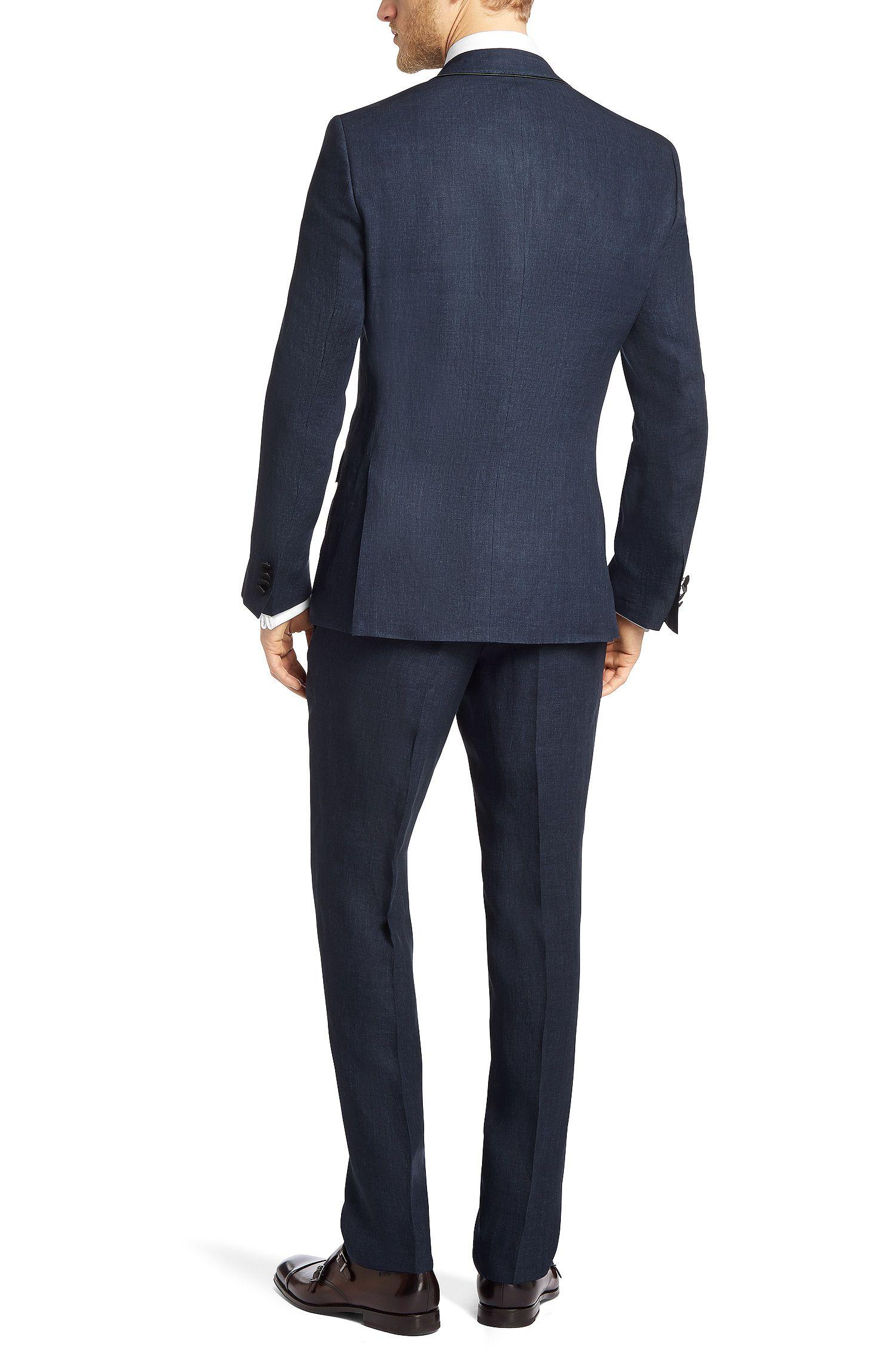 Slim-Fit Anzug ´Harlo/Glory` aus Leinen