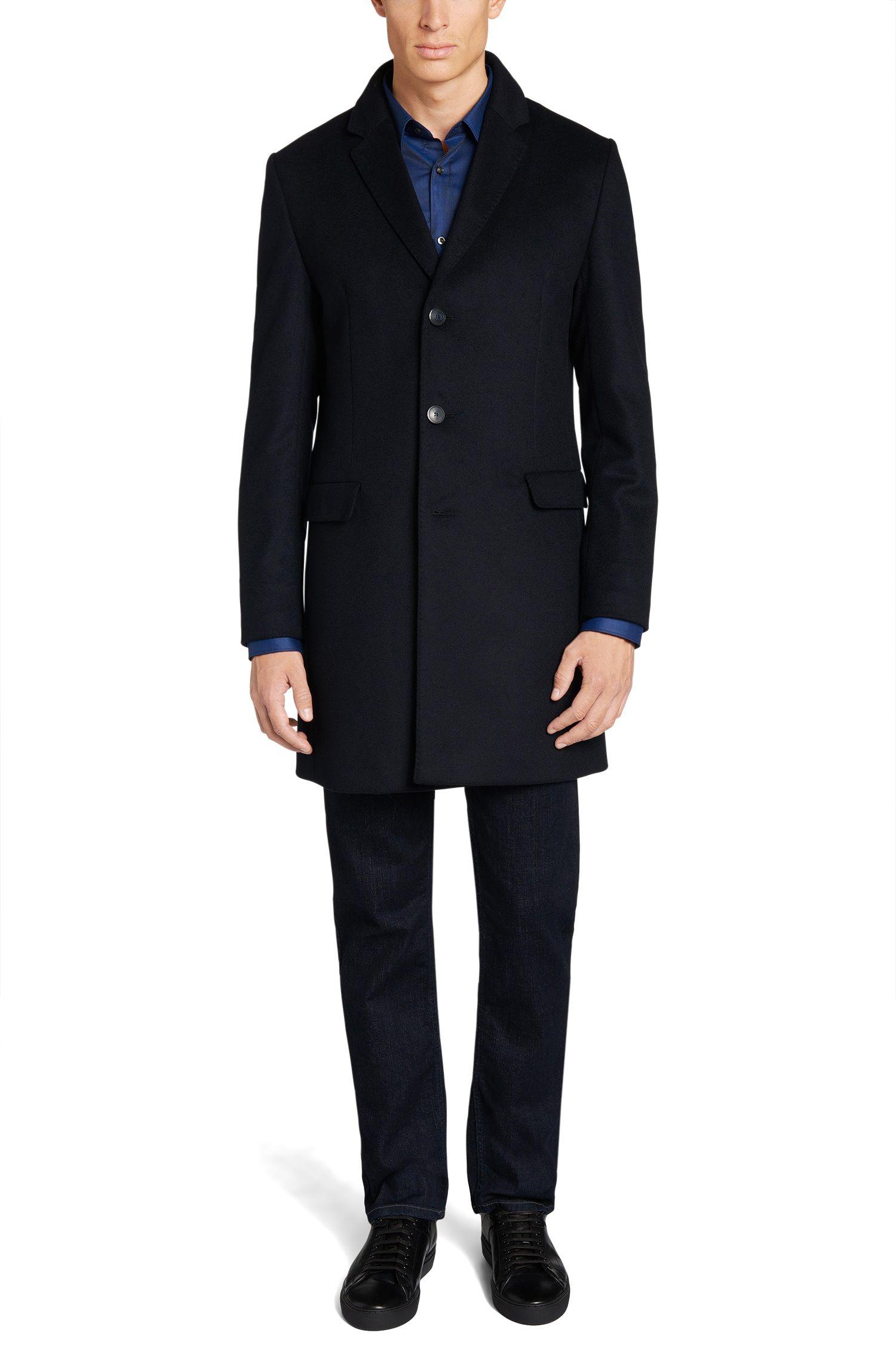 Manteau en laine vierge mélangée: «Migor2»