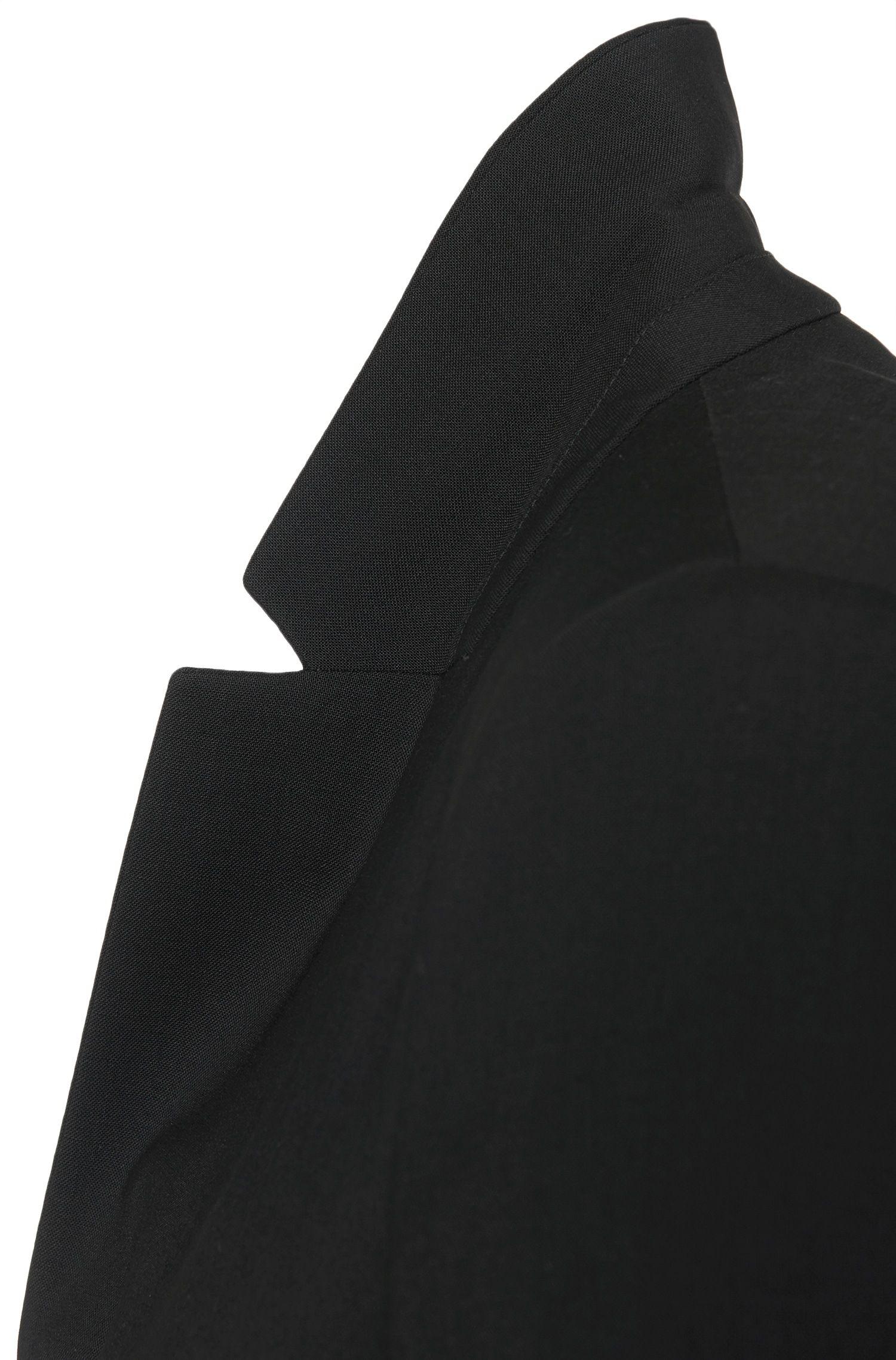 Blazer en laine vierge mélangée, avec de l'élasthanne: «Afrona»
