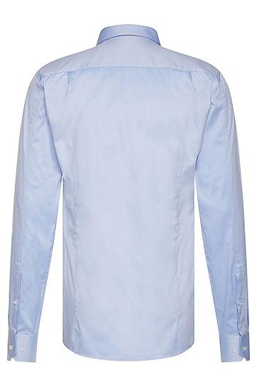 Slim-Fit Hemd aus Baumwolle: 'Elisha', Hellblau