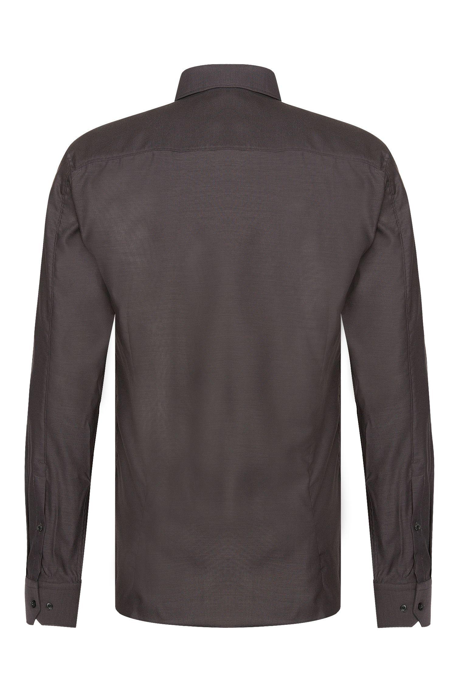 Slim-Fit Hemd aus Baumwolle mit Kentkragen: 'Elisha01'