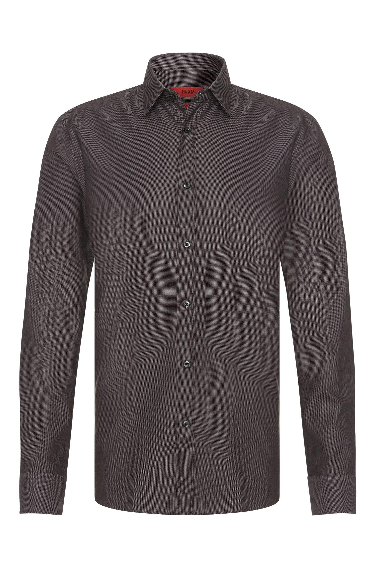 Slim-fit business shirt 'Elisha01' in easy-iron cotton