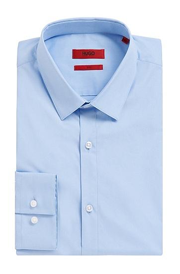 Slim-Fit Hemd aus Stretch-Baumwolle: 'Etello', Hellblau