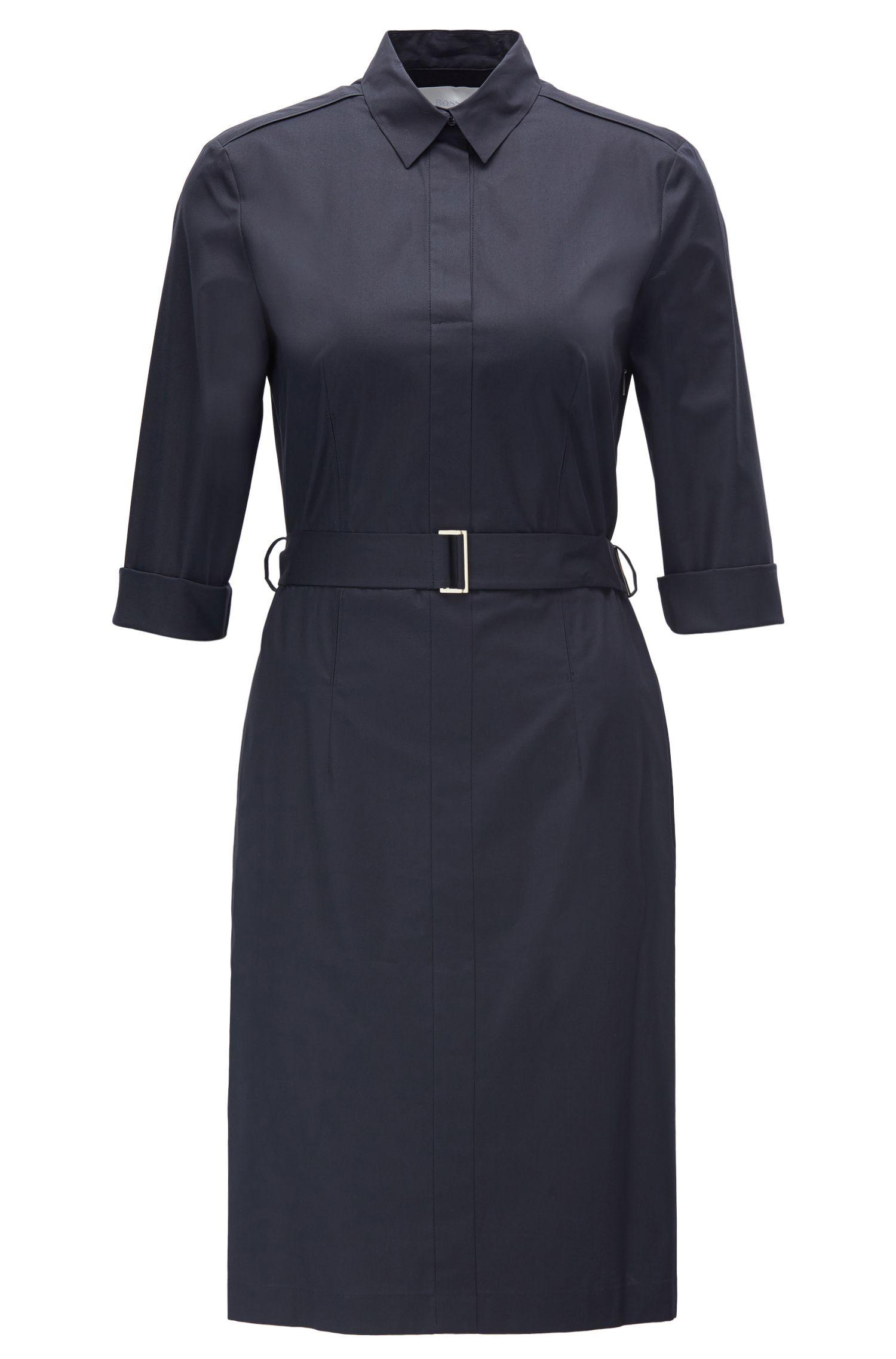 Dress in stretch cotton: 'Dashiri4'
