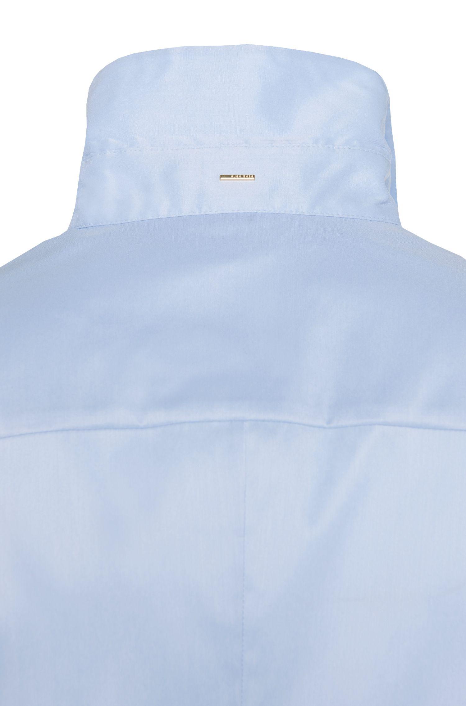 Slim-Fit Bluse aus Baumwoll-Mix: 'Bashini2'