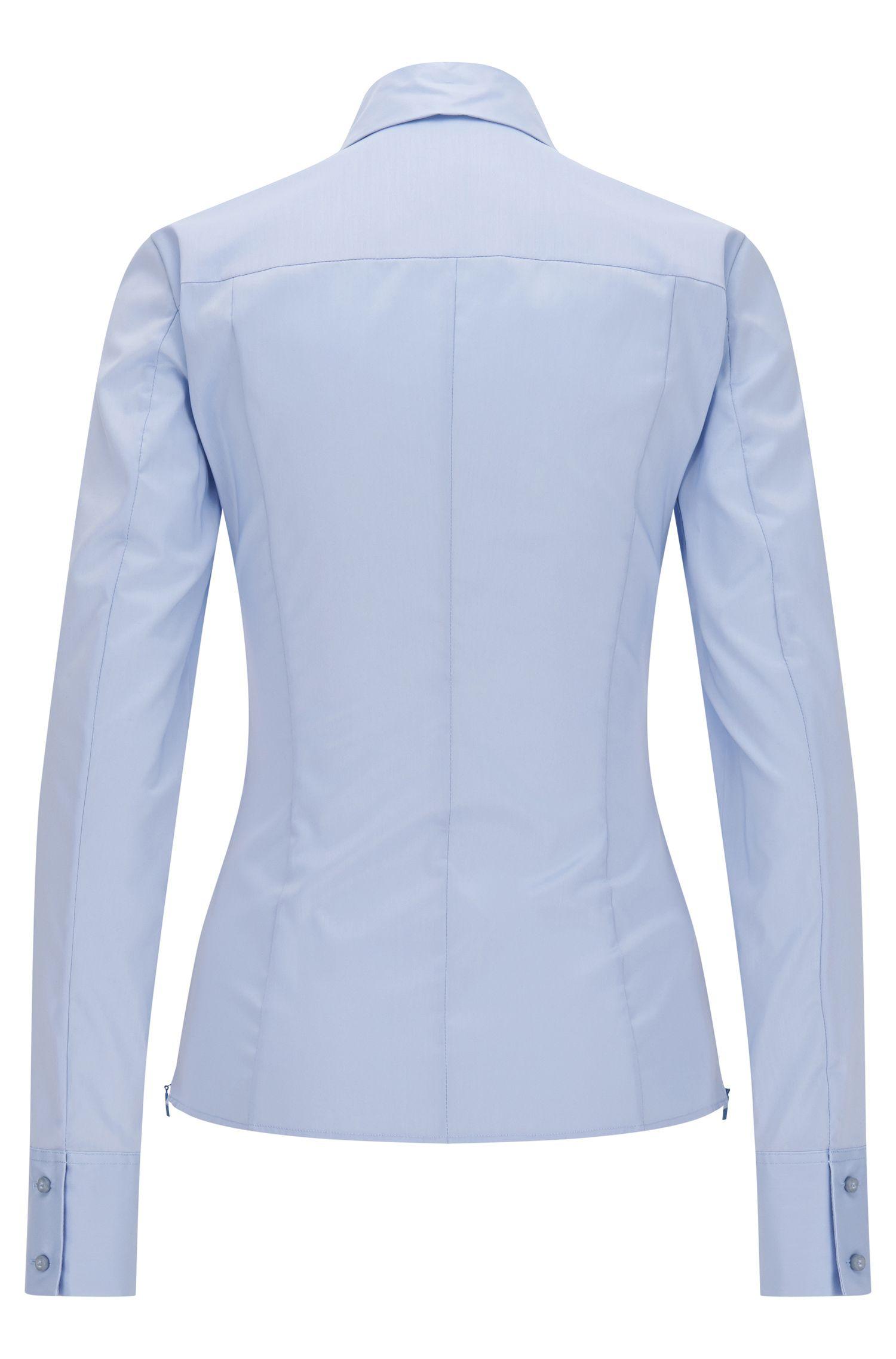 Taillierte Bluse aus Baumwoll-Mix: 'Bashina6'