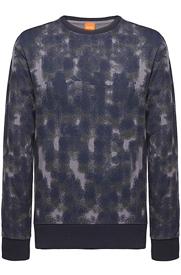 Sweatshirt ´Willeo` aus Baumwolle, Hellgrau