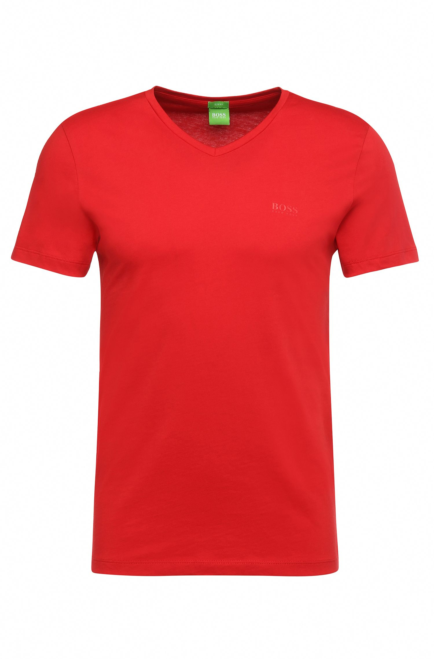 Slim-Fit T-Shirt aus softer Baumwolle: ´C-Canistro 80`