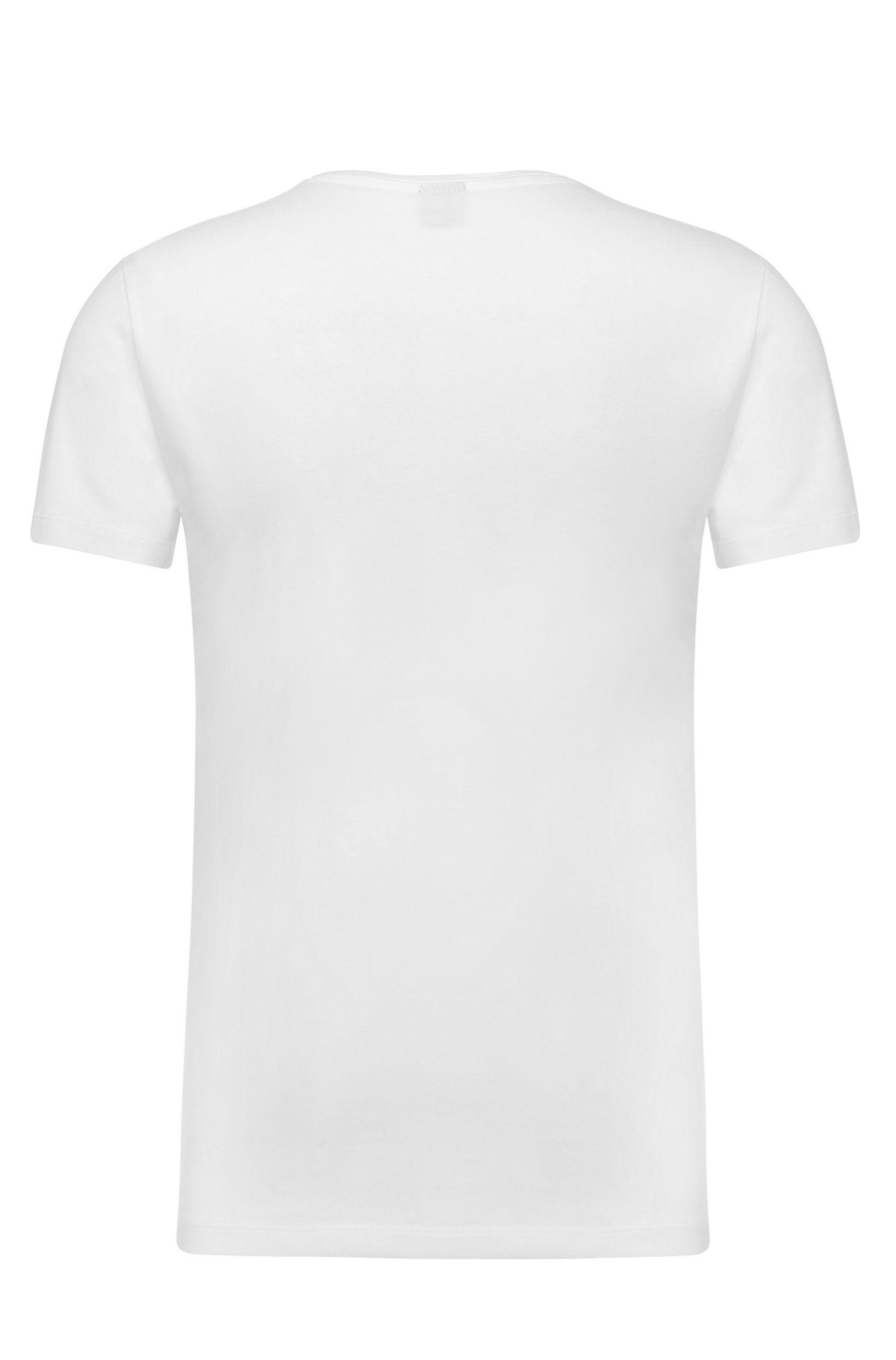 T-shirt en pur coton: «C-Lecco»