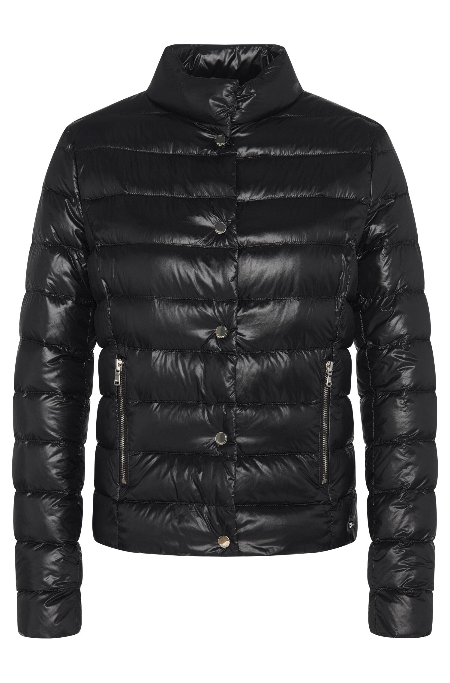 Fitted and quilted jacket with down: 'GR-Fawani-SPW'
