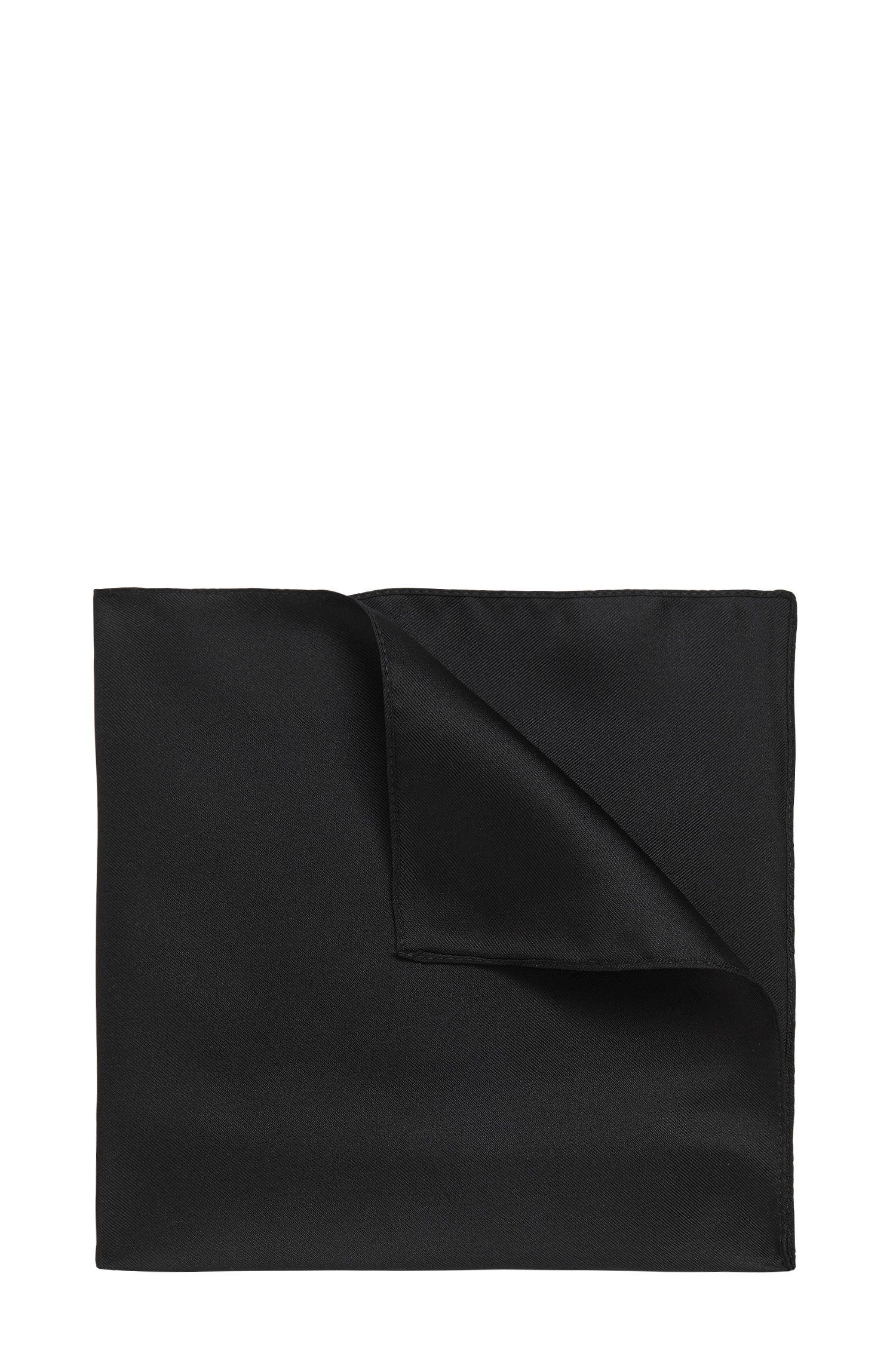 Silk pocket square: 'Pocket sq. cm 33 x 33'