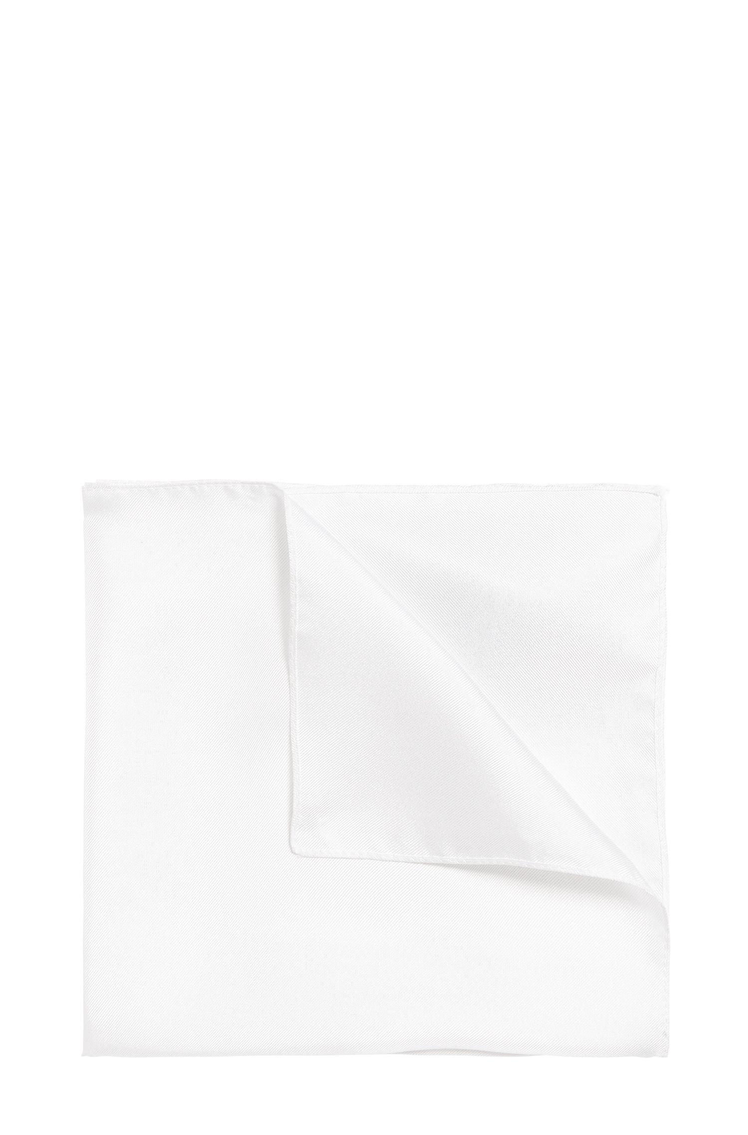 Pochet van zijde: 'Pocket sq. cm 33 x 33'