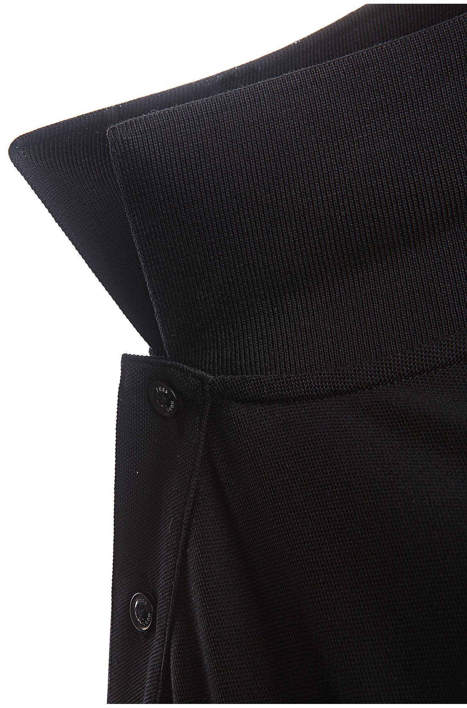 Polo Regular Fit en pur coton: «C-Firenze/Logo»