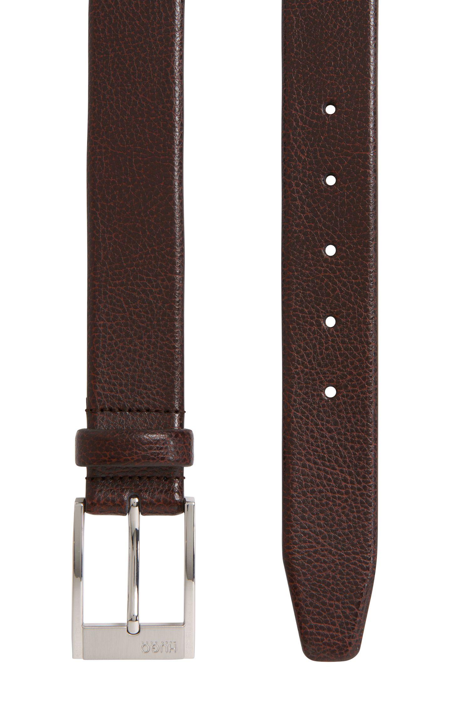 Gürtel aus strukturiertem Leder: 'C-Ellot'