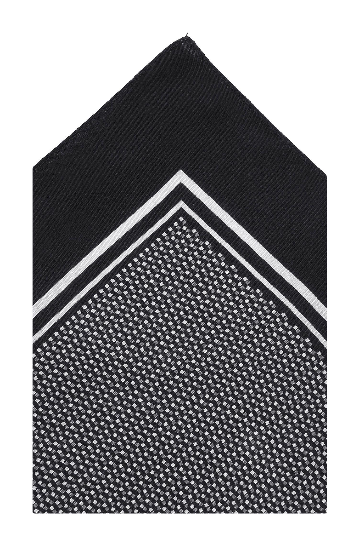 Pochet 'Pocket sq. cm 33 x 33' van zijde
