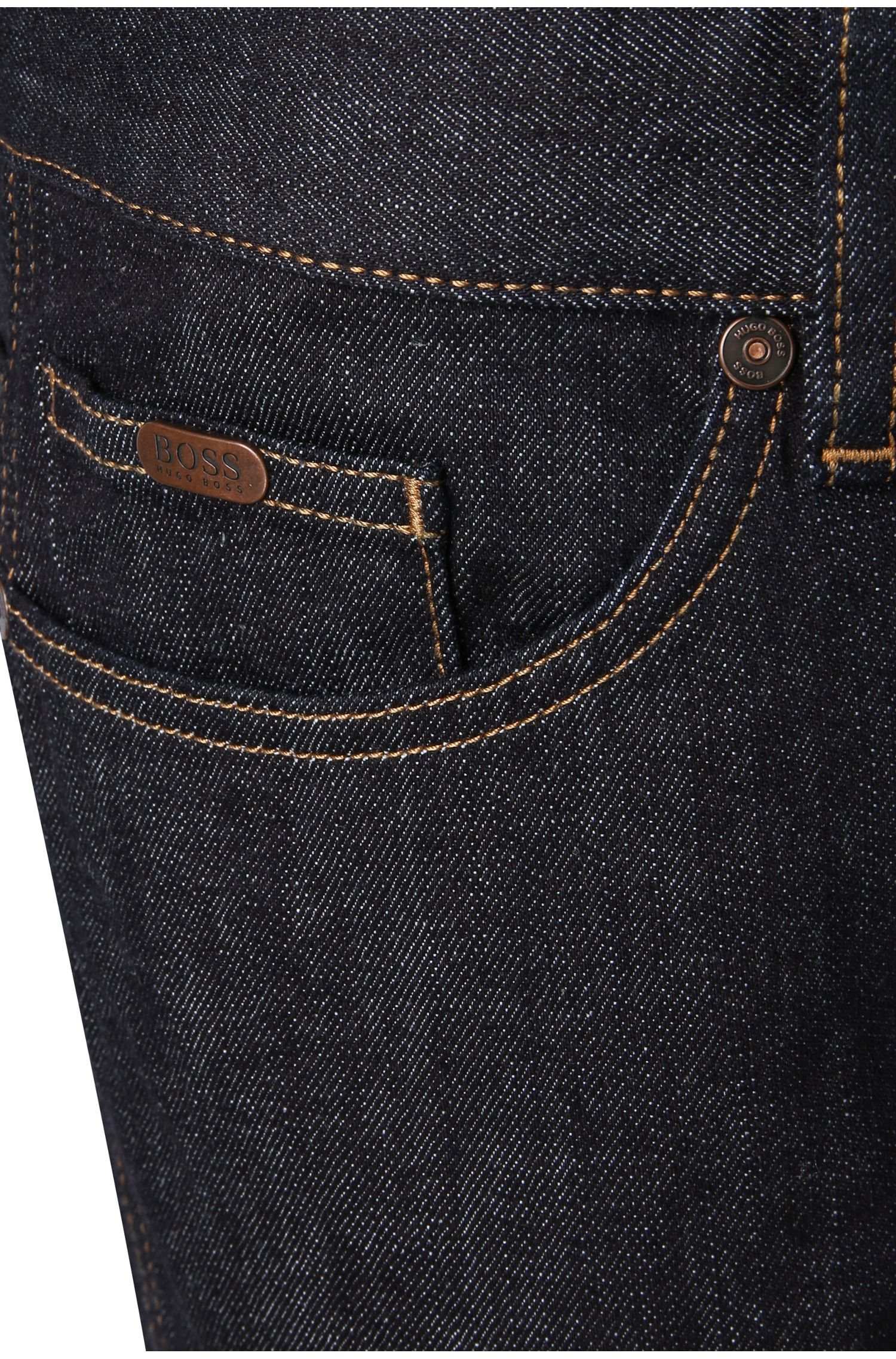 Slim-Fit Jeans aus Stretch-Baumwolle: ´C-DELAWARE1`