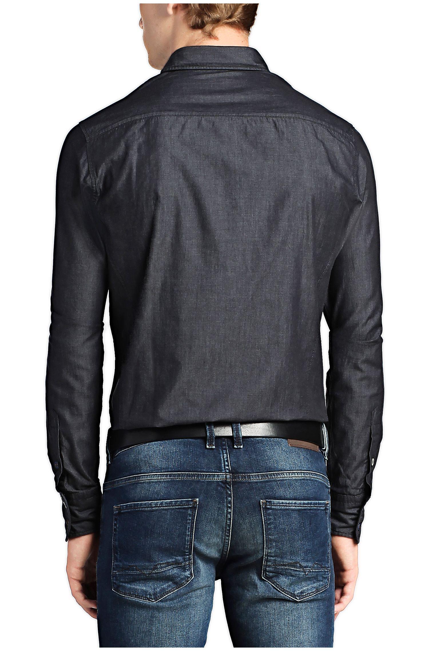 Chemise décontractée Slim Fit «EdaslimE» en coton