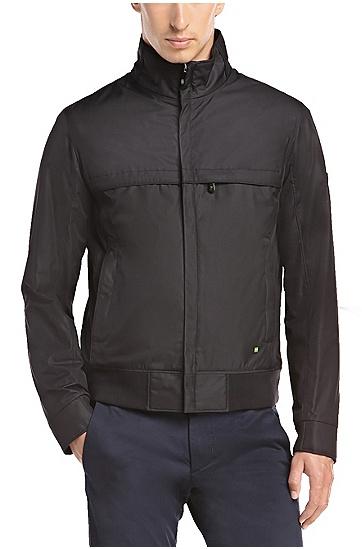 男款户外立领拉链夹克,  001_黑色