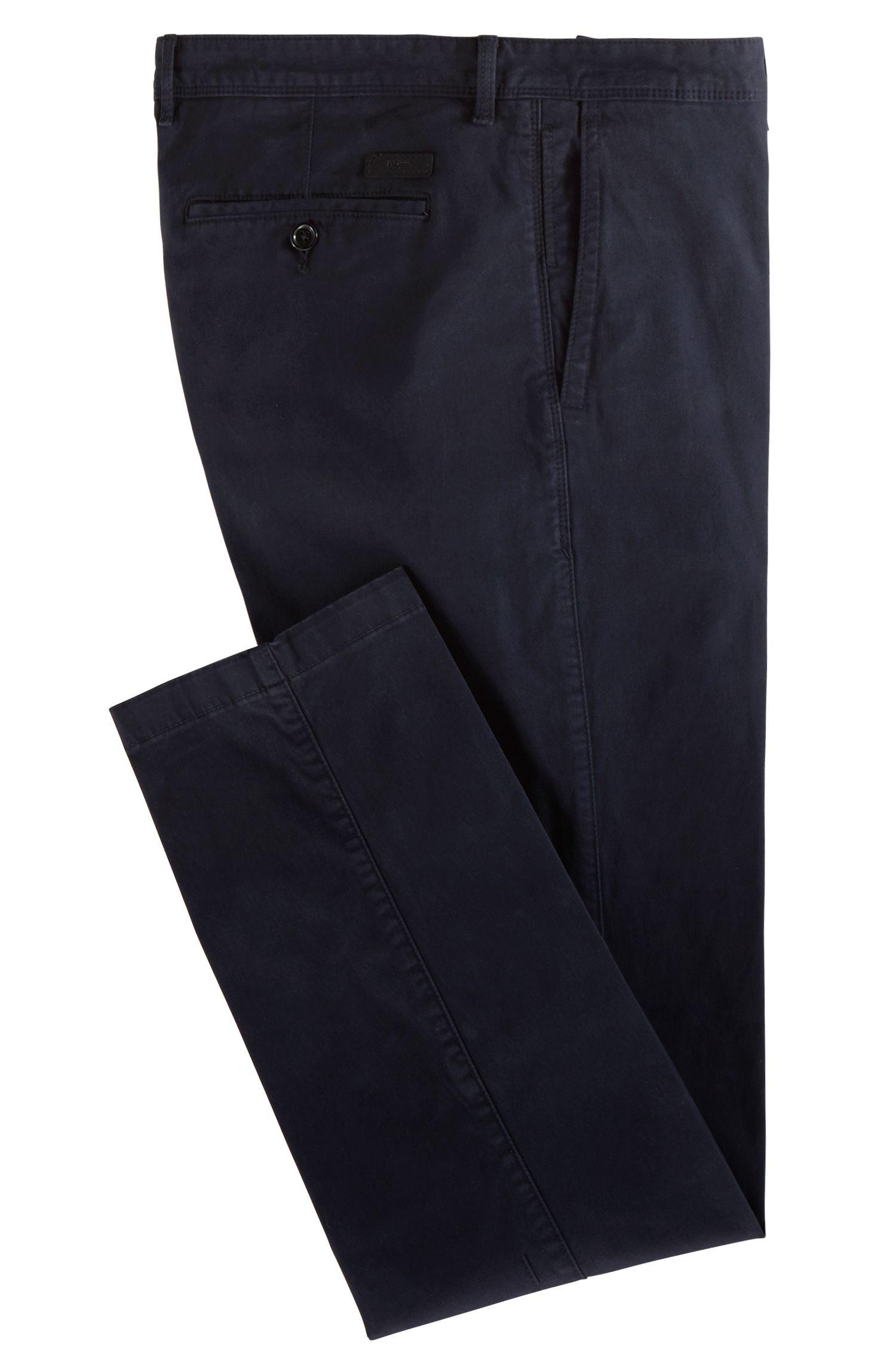 Regular-Fit Hose aus Baumwoll-Mix: 'Crigan2-D'