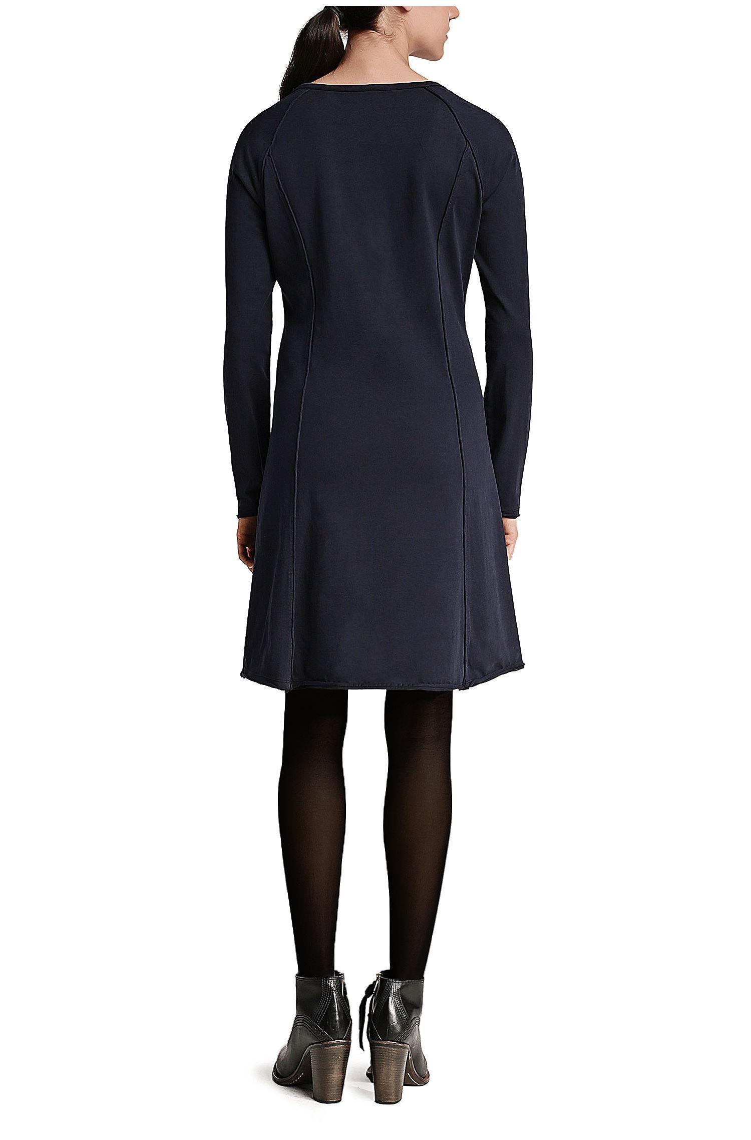 A-Linien Kleid aus Sweatstoff: ´Derzip`