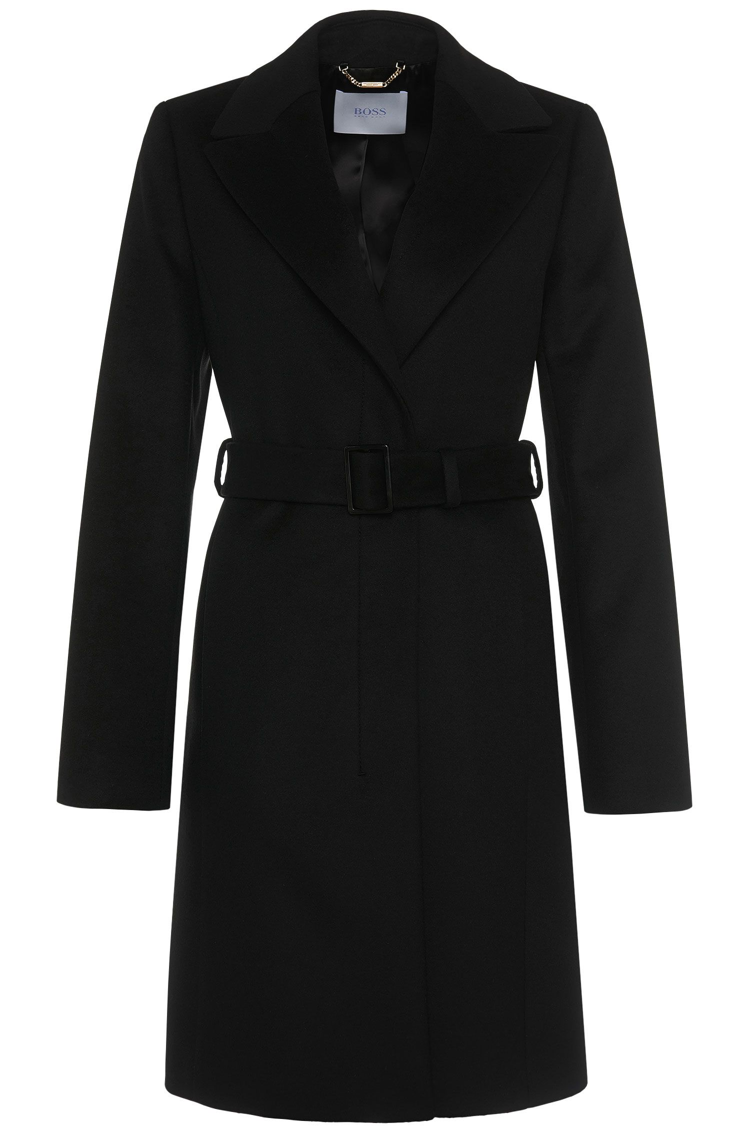 Coat in a new-wool blend with cashmere: 'Cepina'