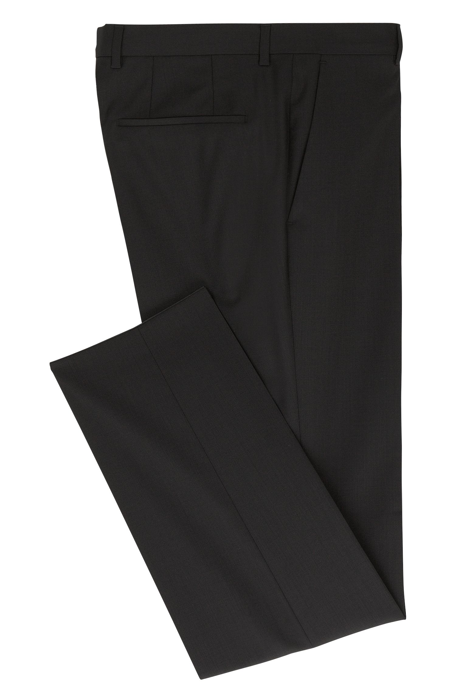 Pantalon Slim Fit en laine vierge : « C-GeniusS »