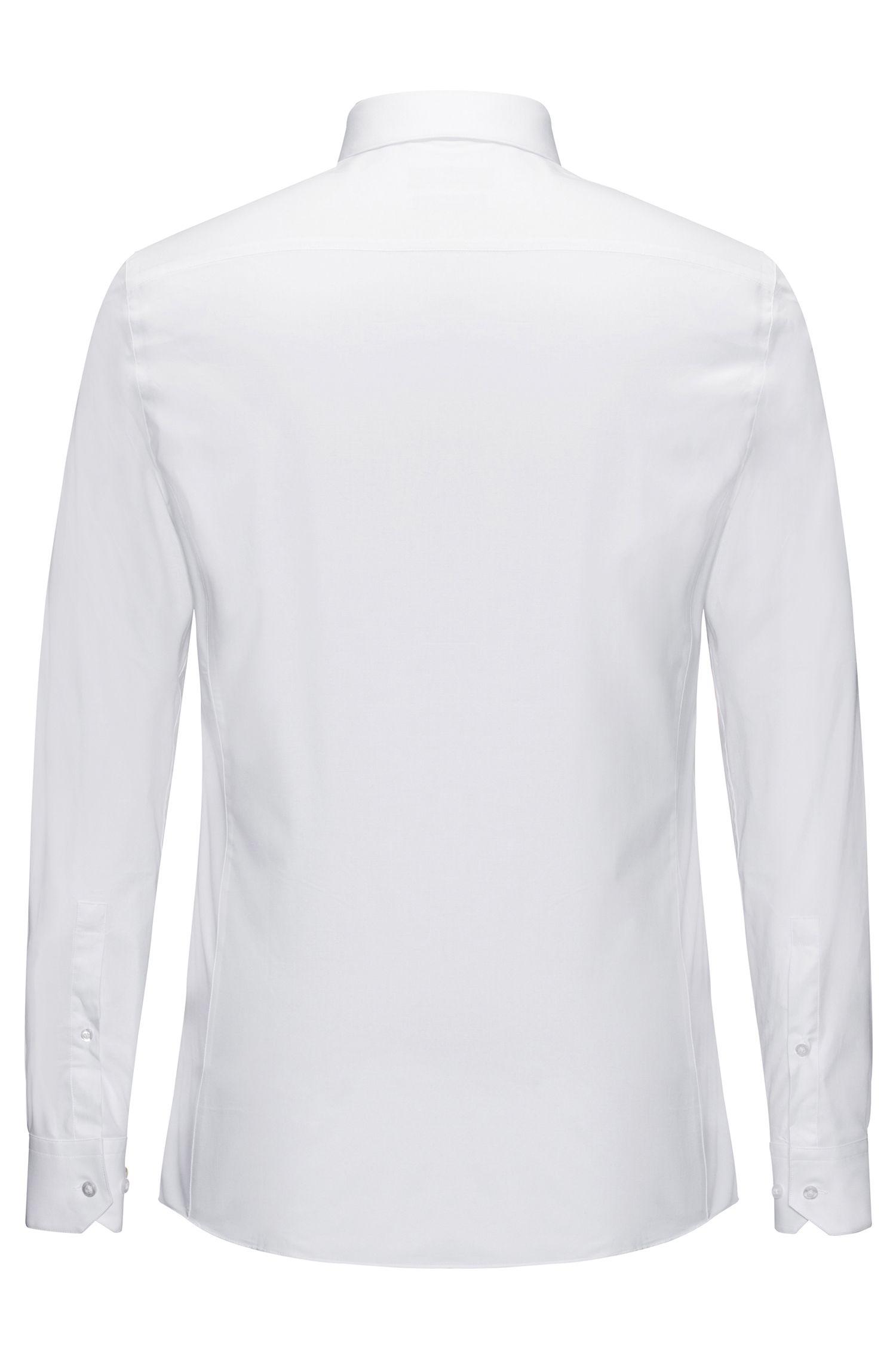 Chemise Extra Slim Fit en coton extensible: «Enin»
