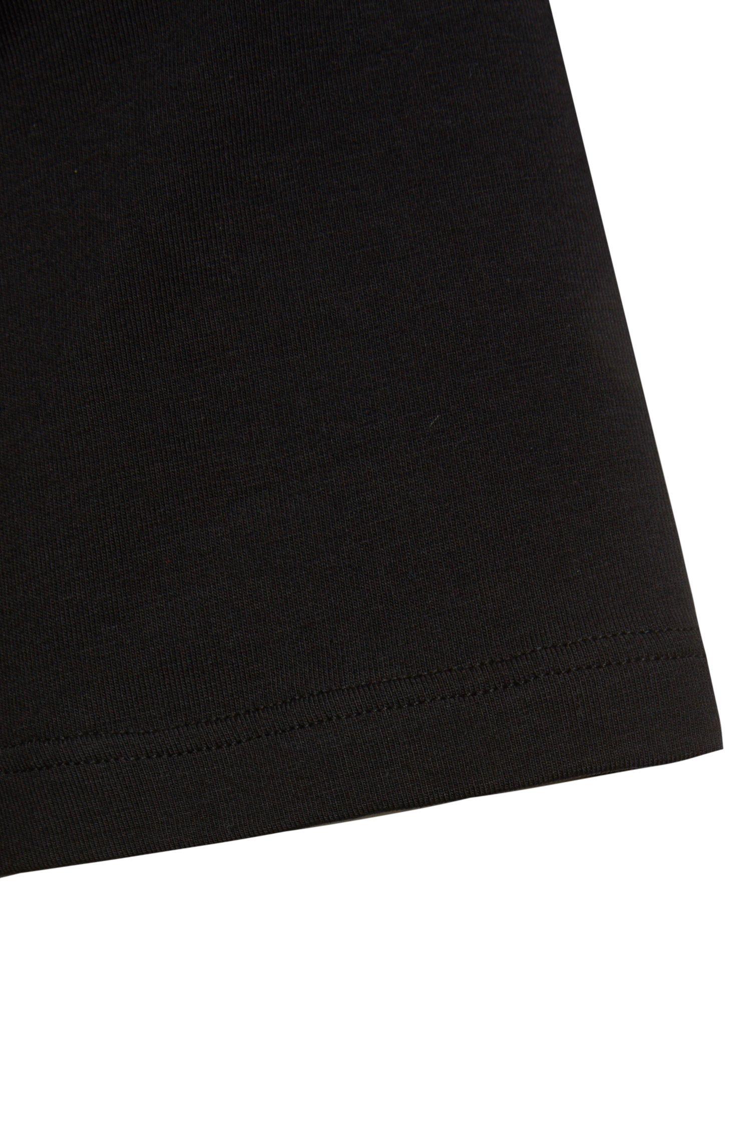 Regular Fit T-Shirt aus elastischem Baumwoll-Mix: 'Shirt VN'