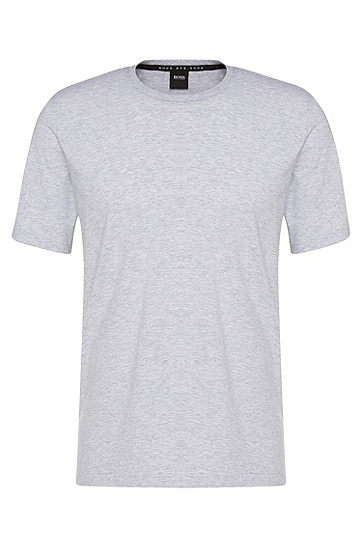 T-Shirt aus Stretch-Baumwolle: 'Shirt RN', Grau